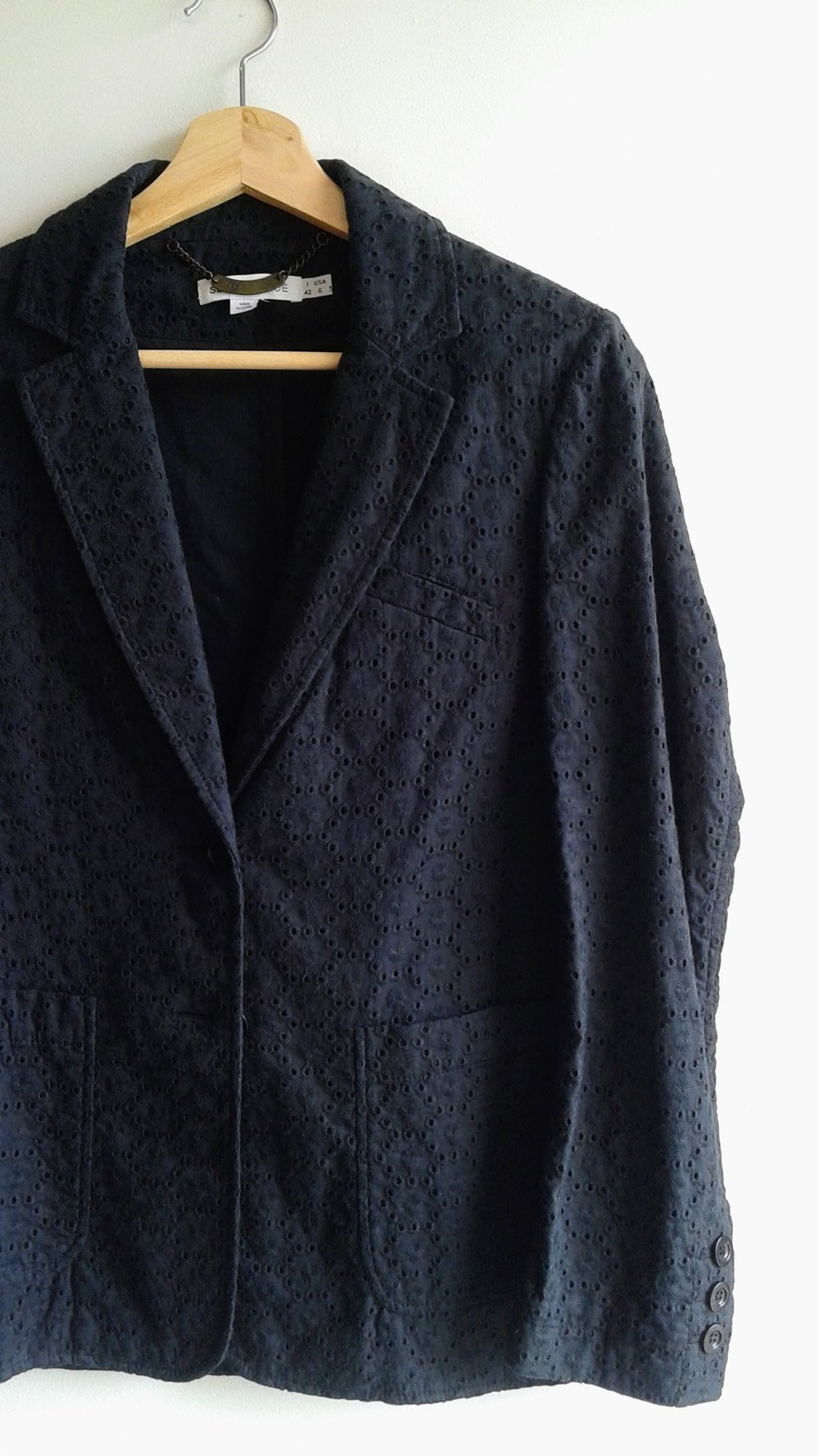 See by Chlo blazer; Size 6, $52