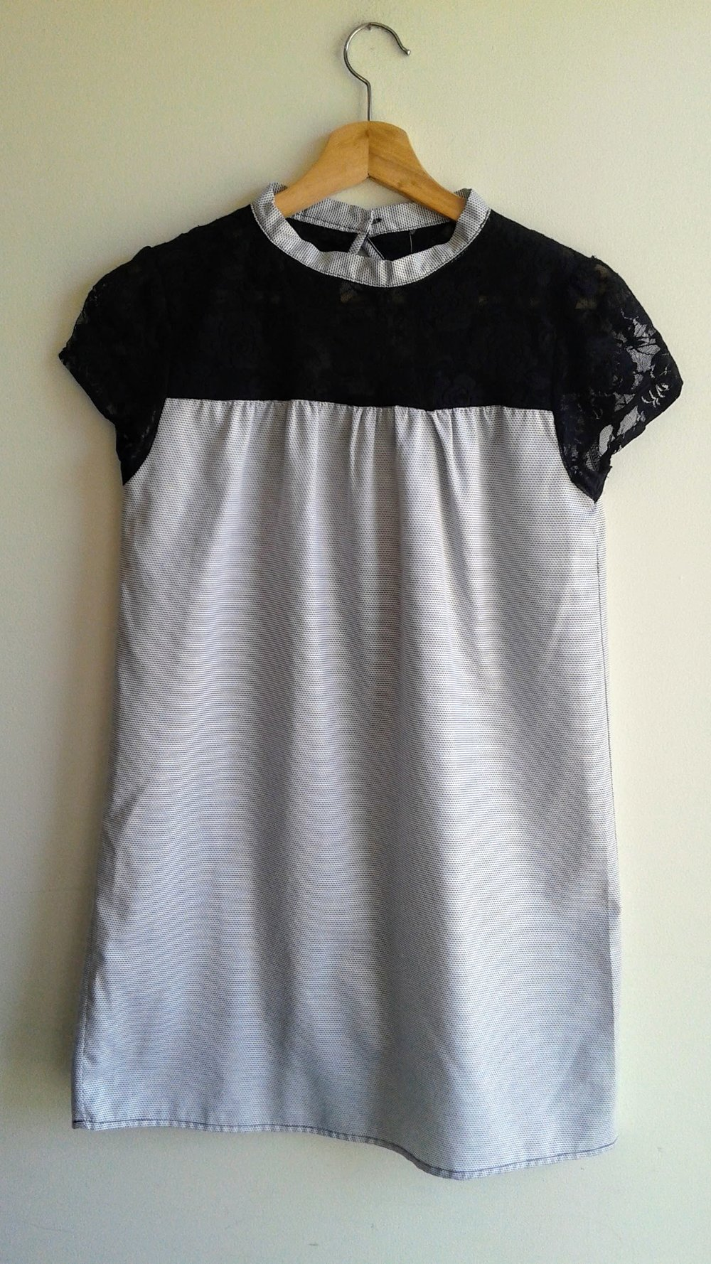 Hand made dress; Size S, $18