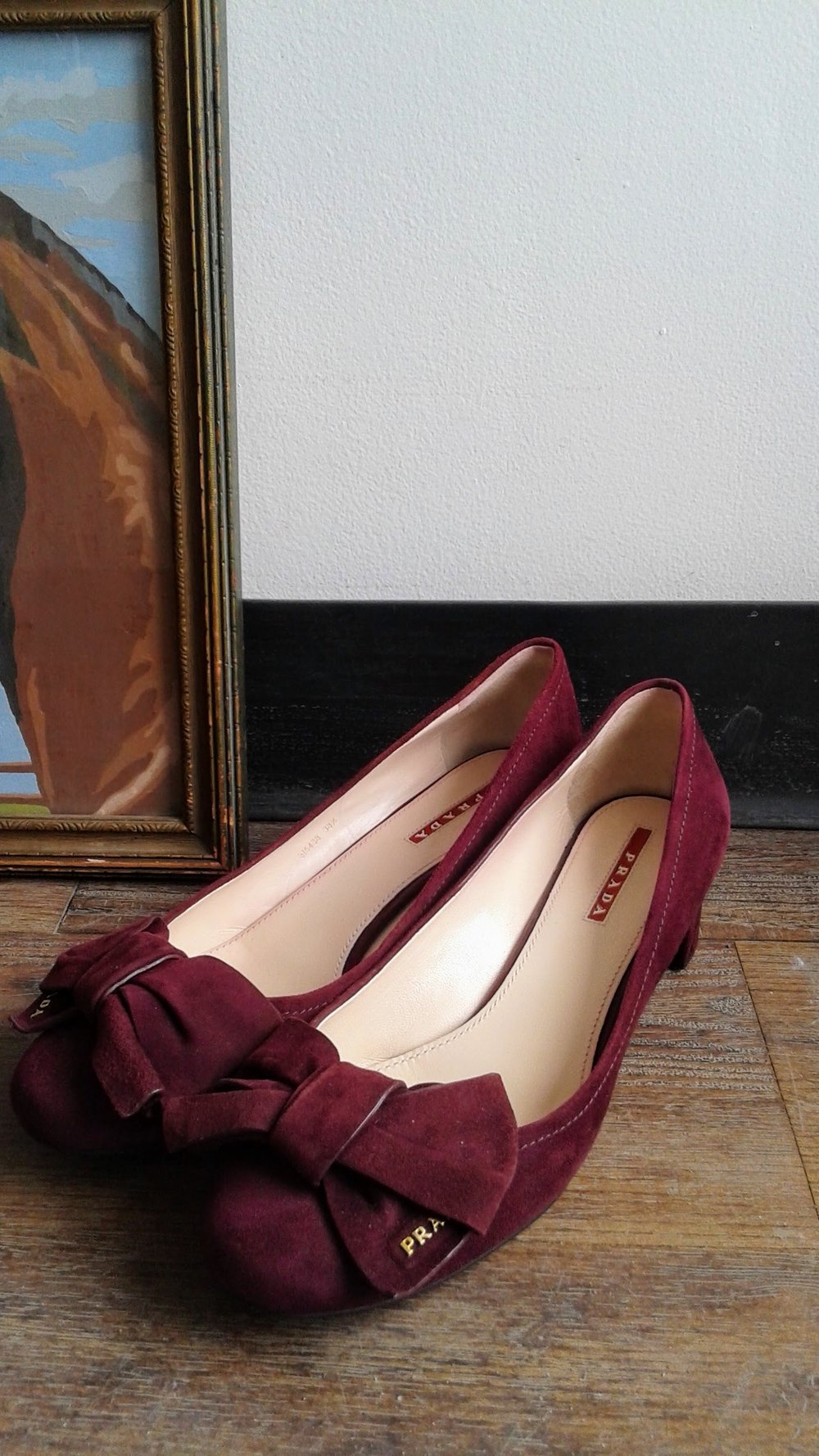 Prada shoes; S8.5, $225