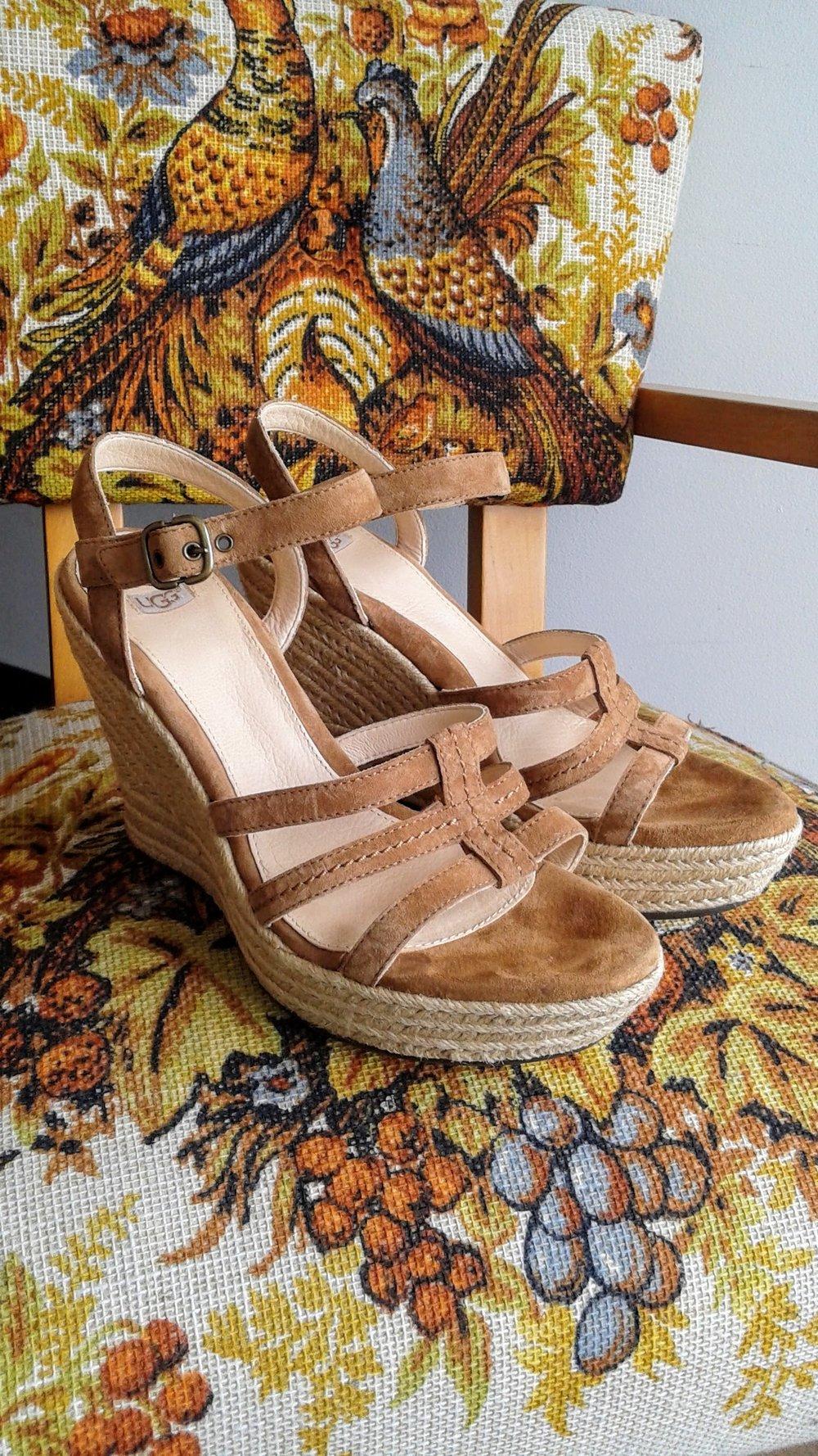 Ugg sandals; S9, $48