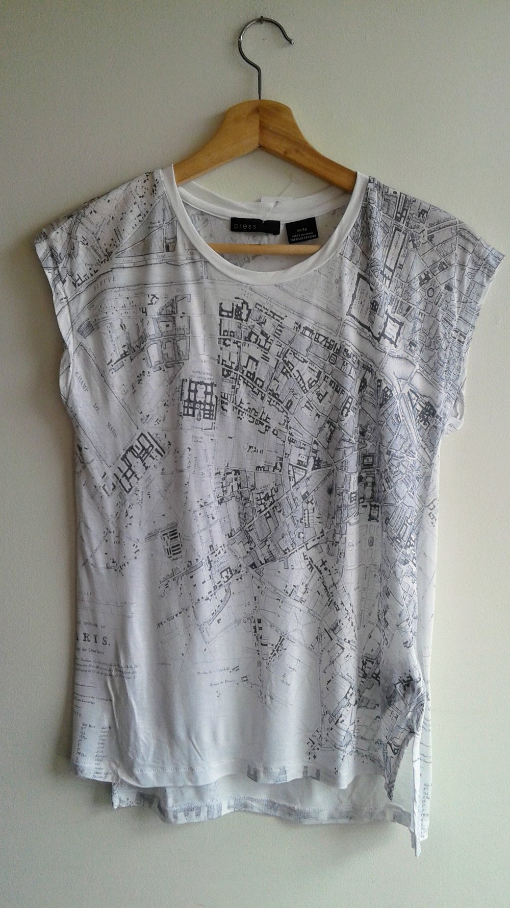 Paris T-shirt; Size XS, $20