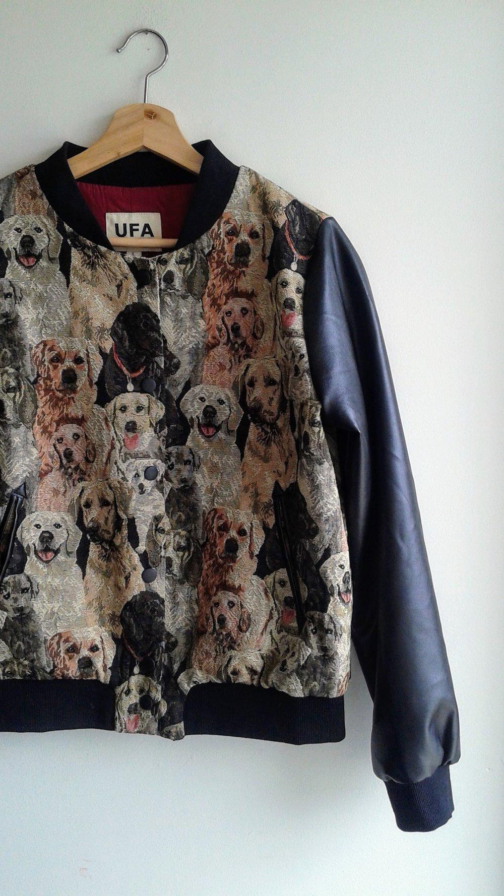 UFA coat; Size M/L, $40