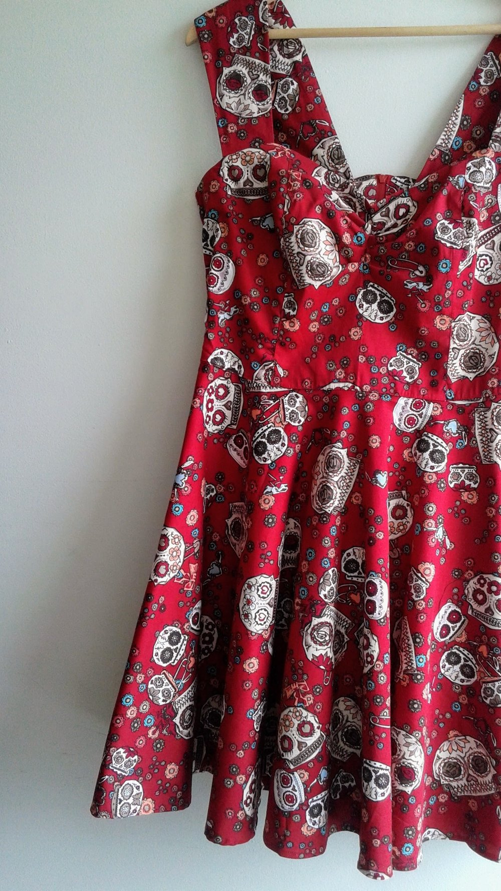 Hell Bunny dress (NWT); Size L, $42