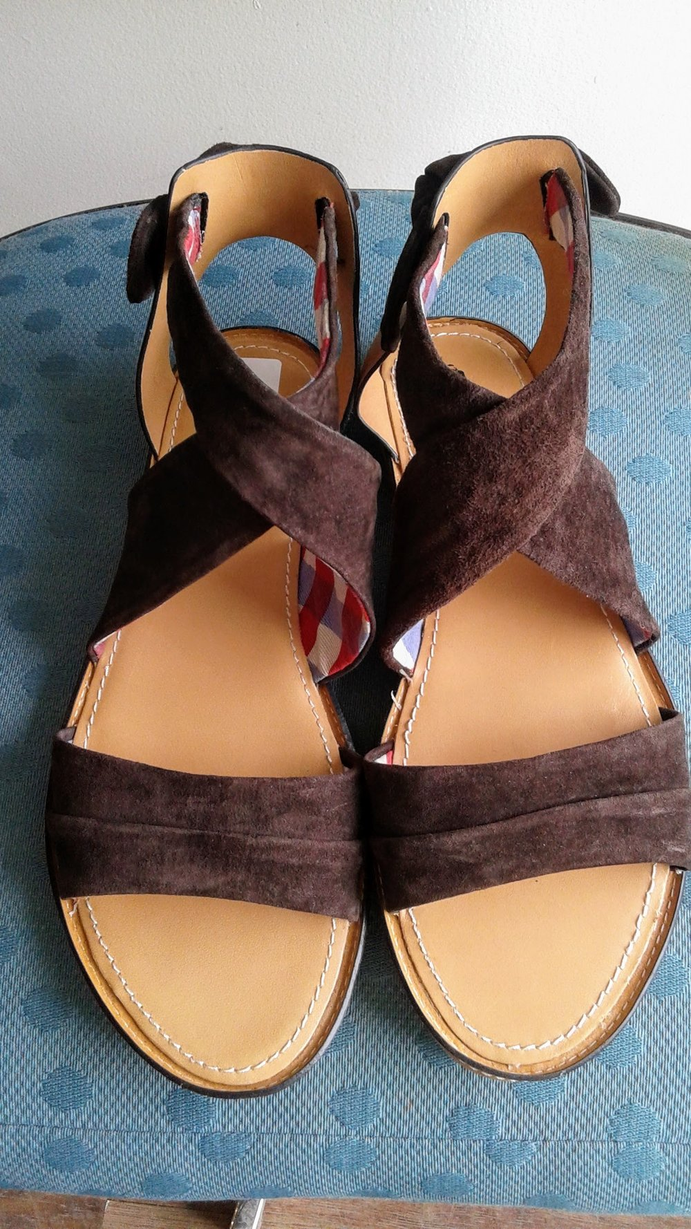 Hush Puppies sandals; S9, $32