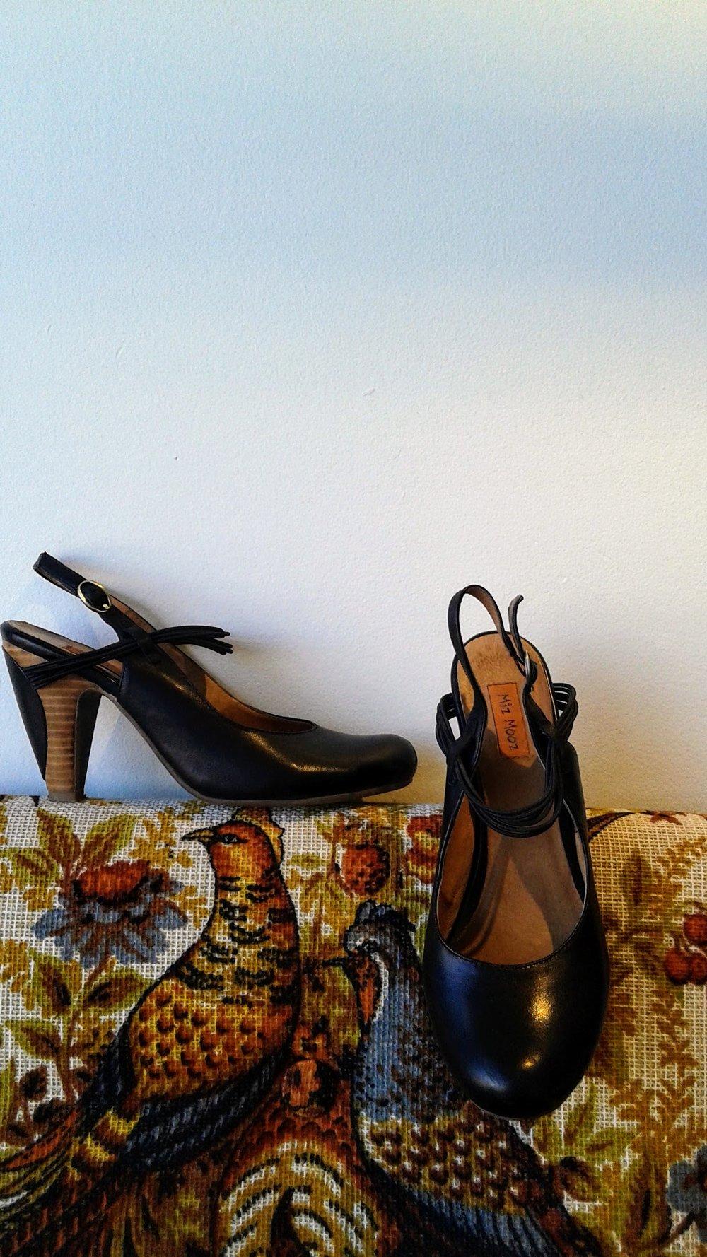 Miz Mooz shoes; S7, $38
