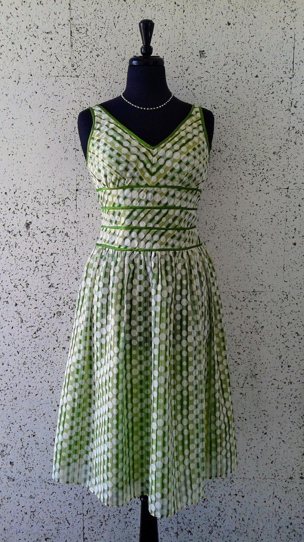 Green dress; S6, $36