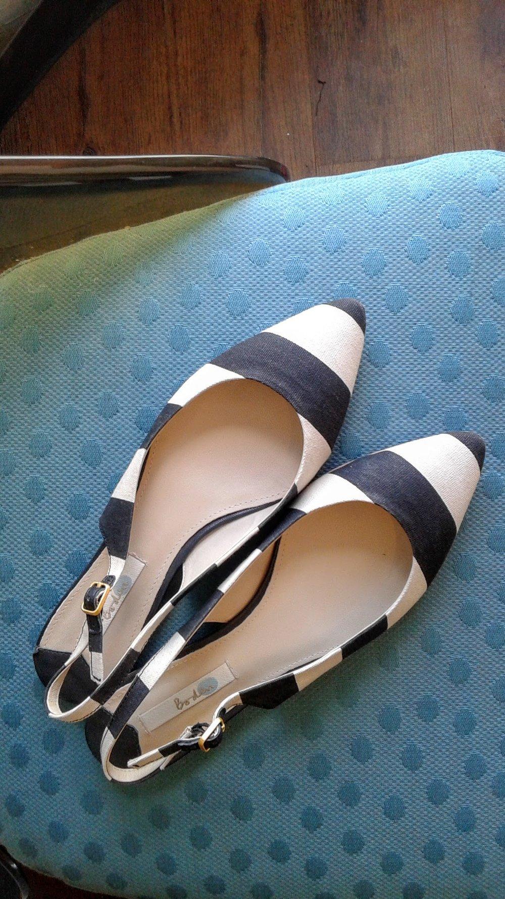 Boden shoes; S9.5, $26