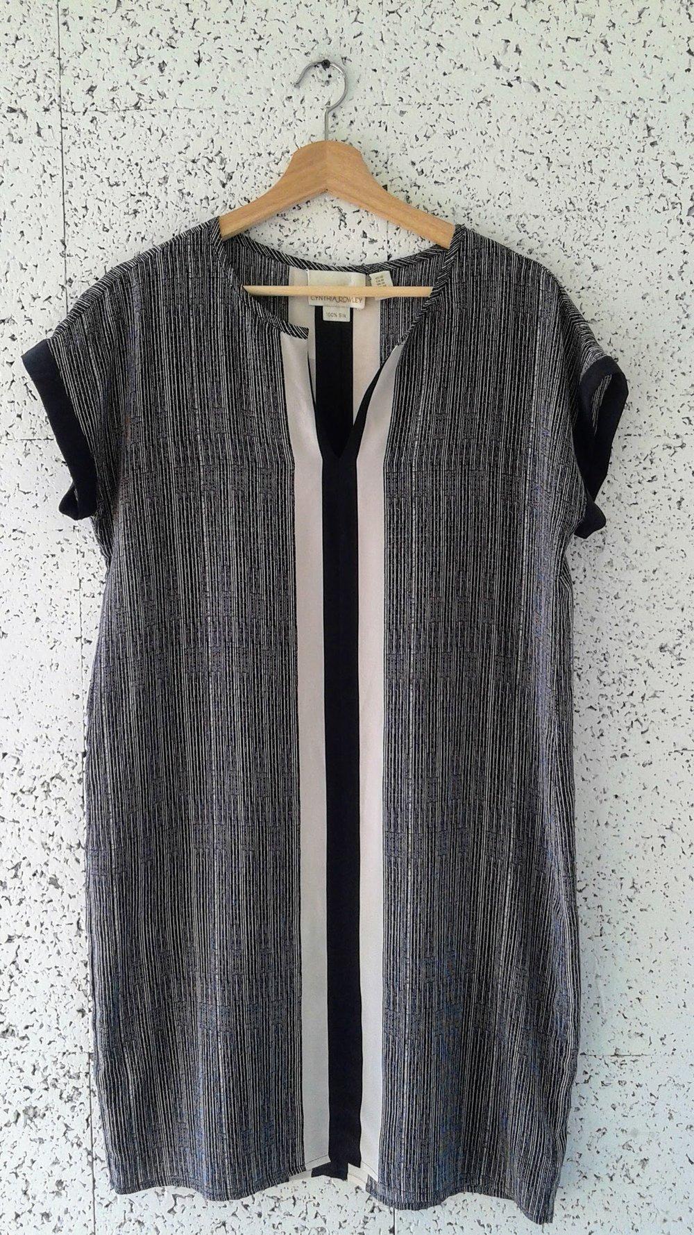 Cynthia Rowley tunic; Size 10, $28