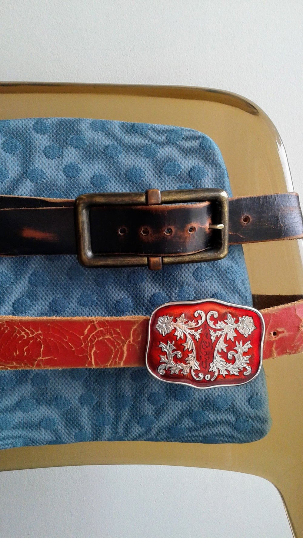 Brave belts, $45 each
