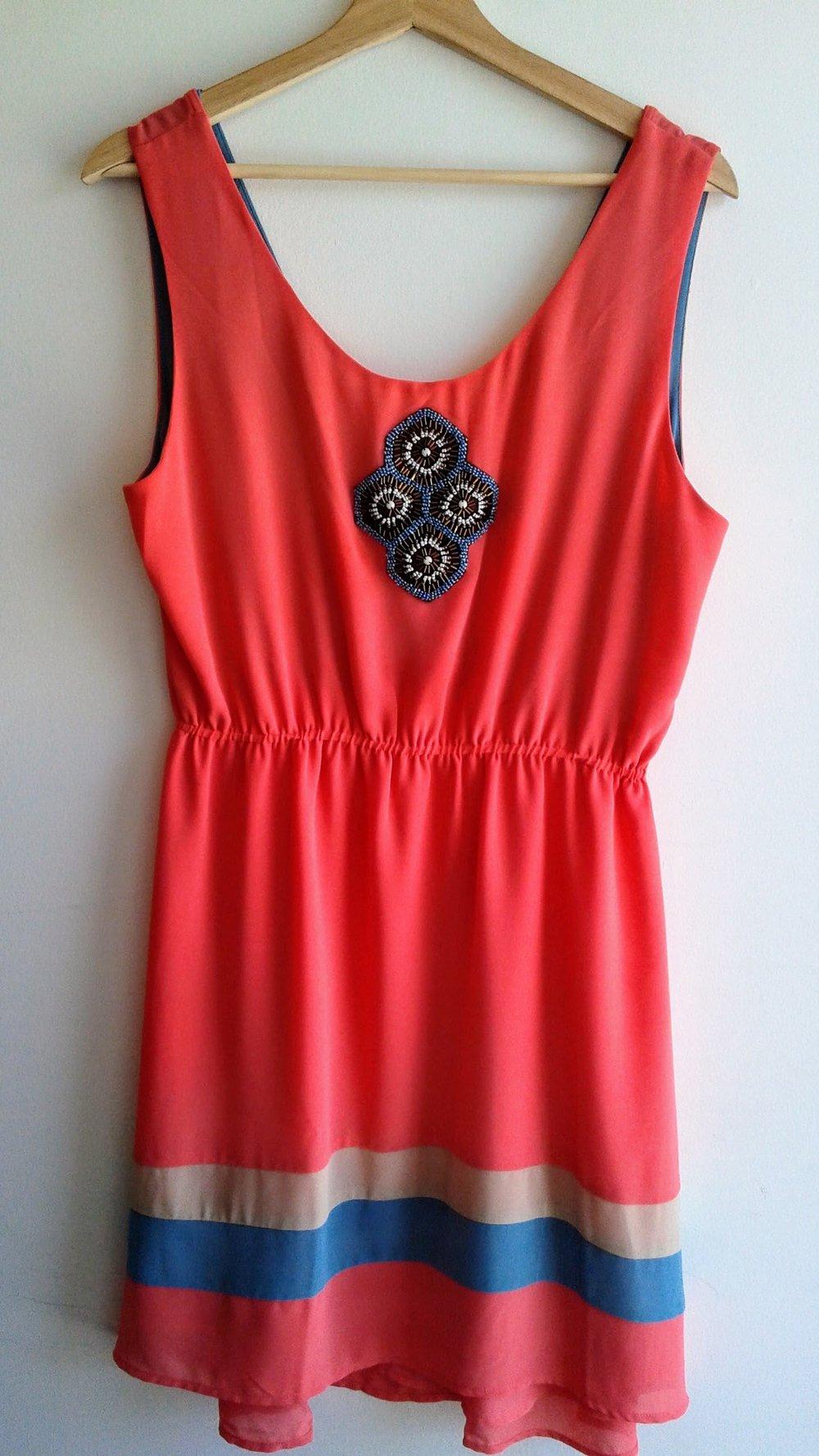 Nick & Mo  dress; Size L, $42