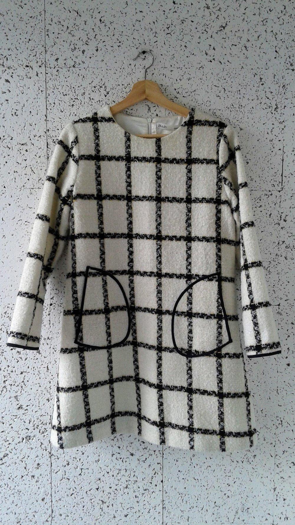 JK&JS tunic; Size L, $34