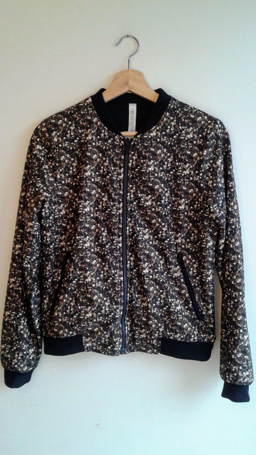 Lululemon jacket; Size 6, $48