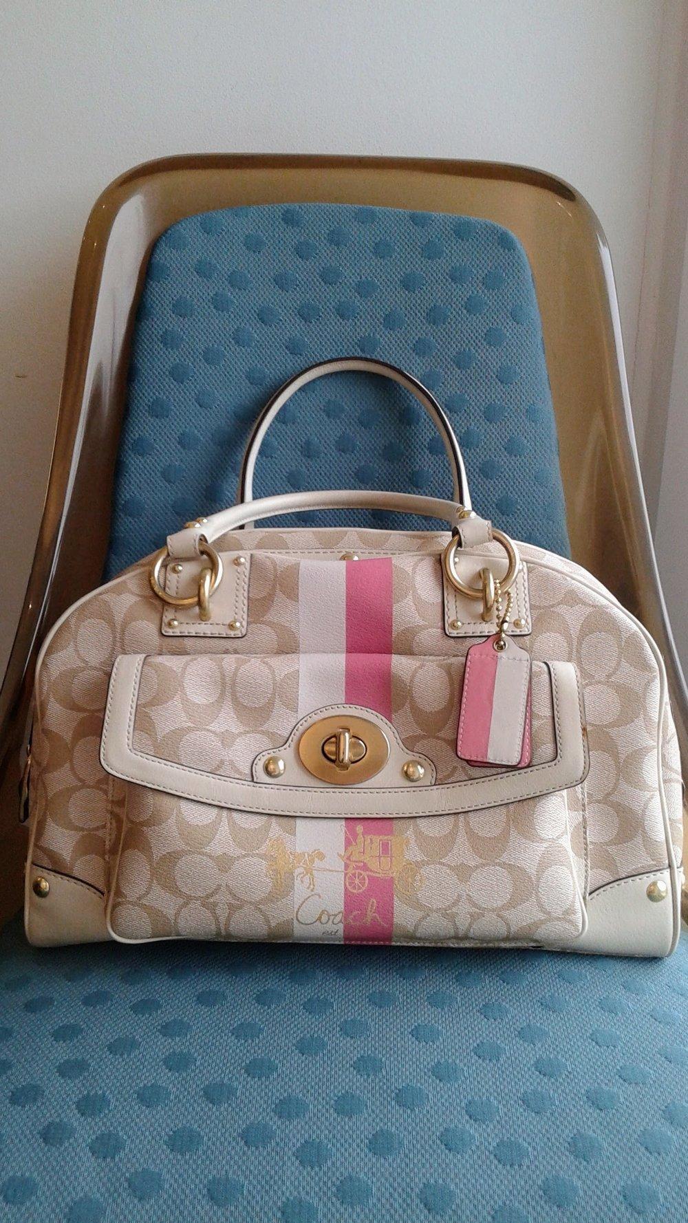 Coach bag, $150