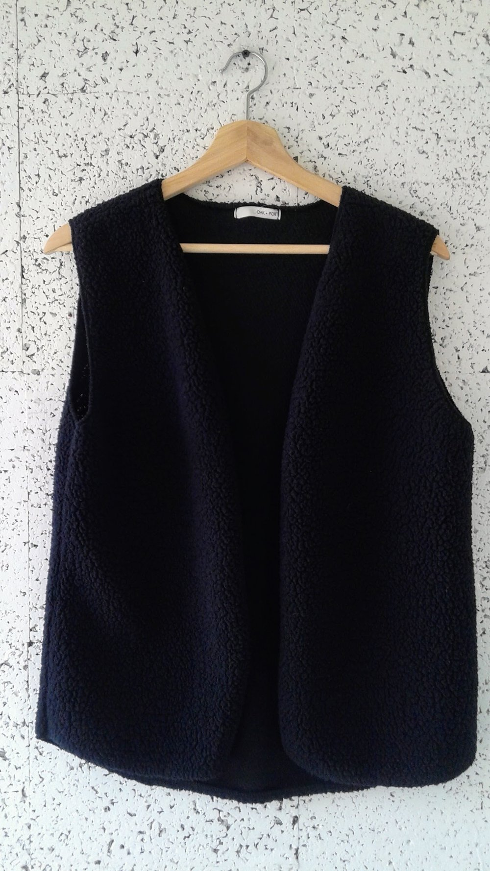 Oak + Fort vest; Size S, $38