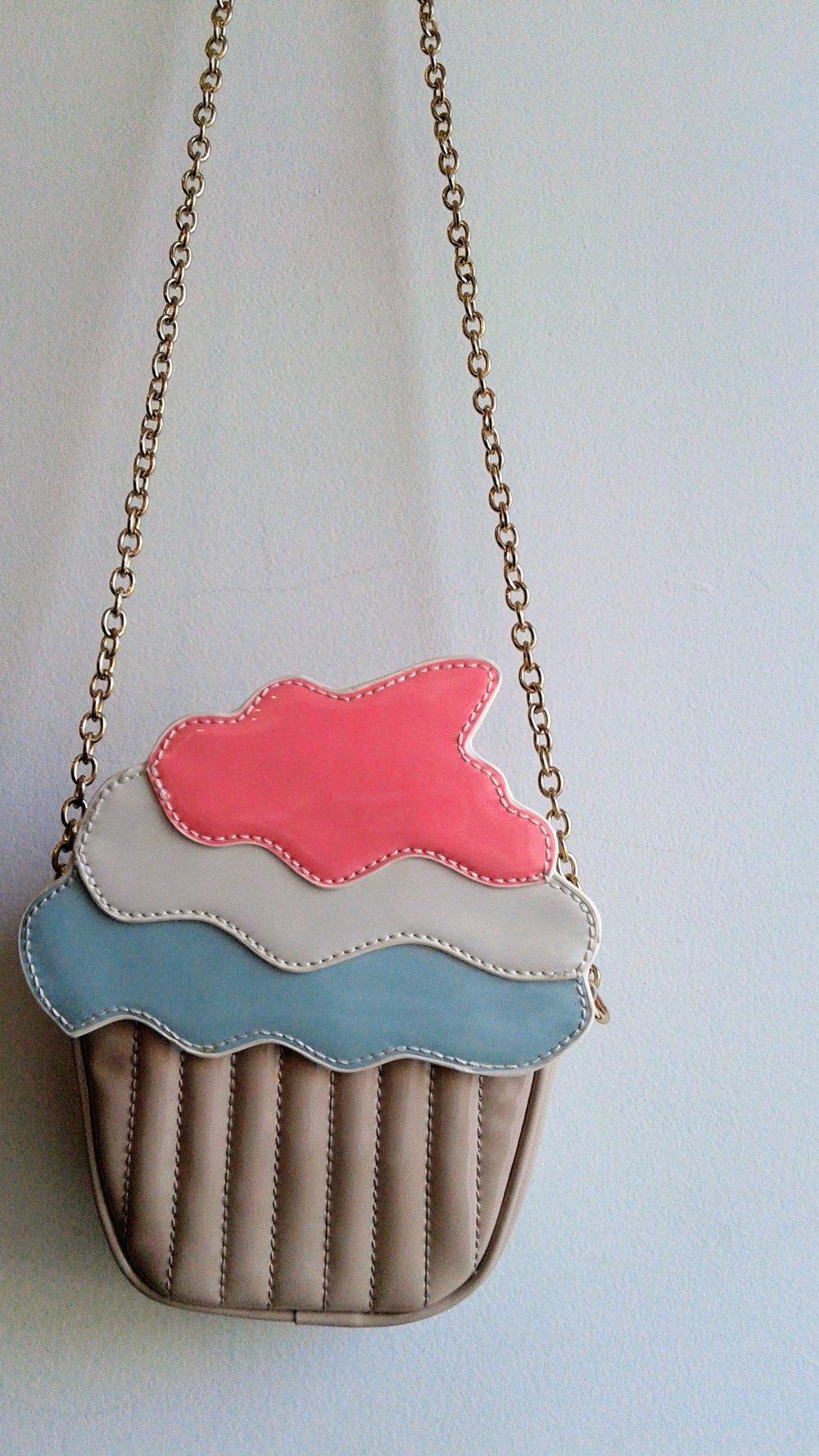 Cupcake purse, $18