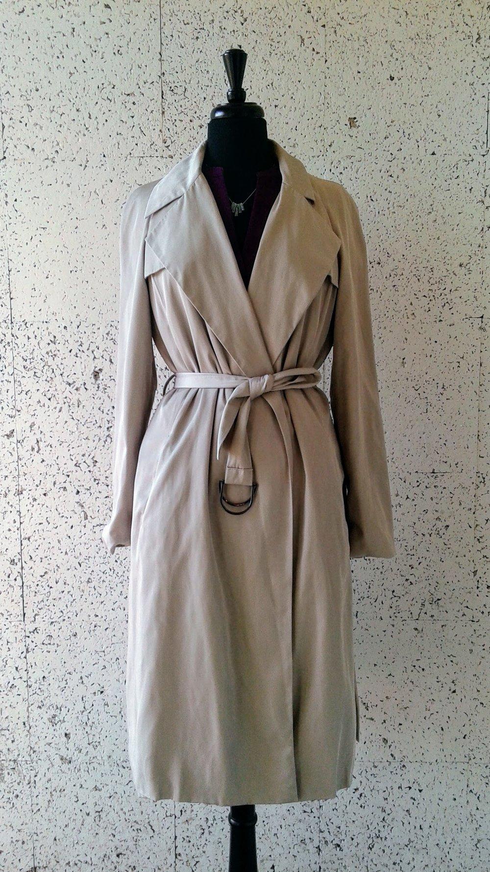 Zara coat; Size L, $42
