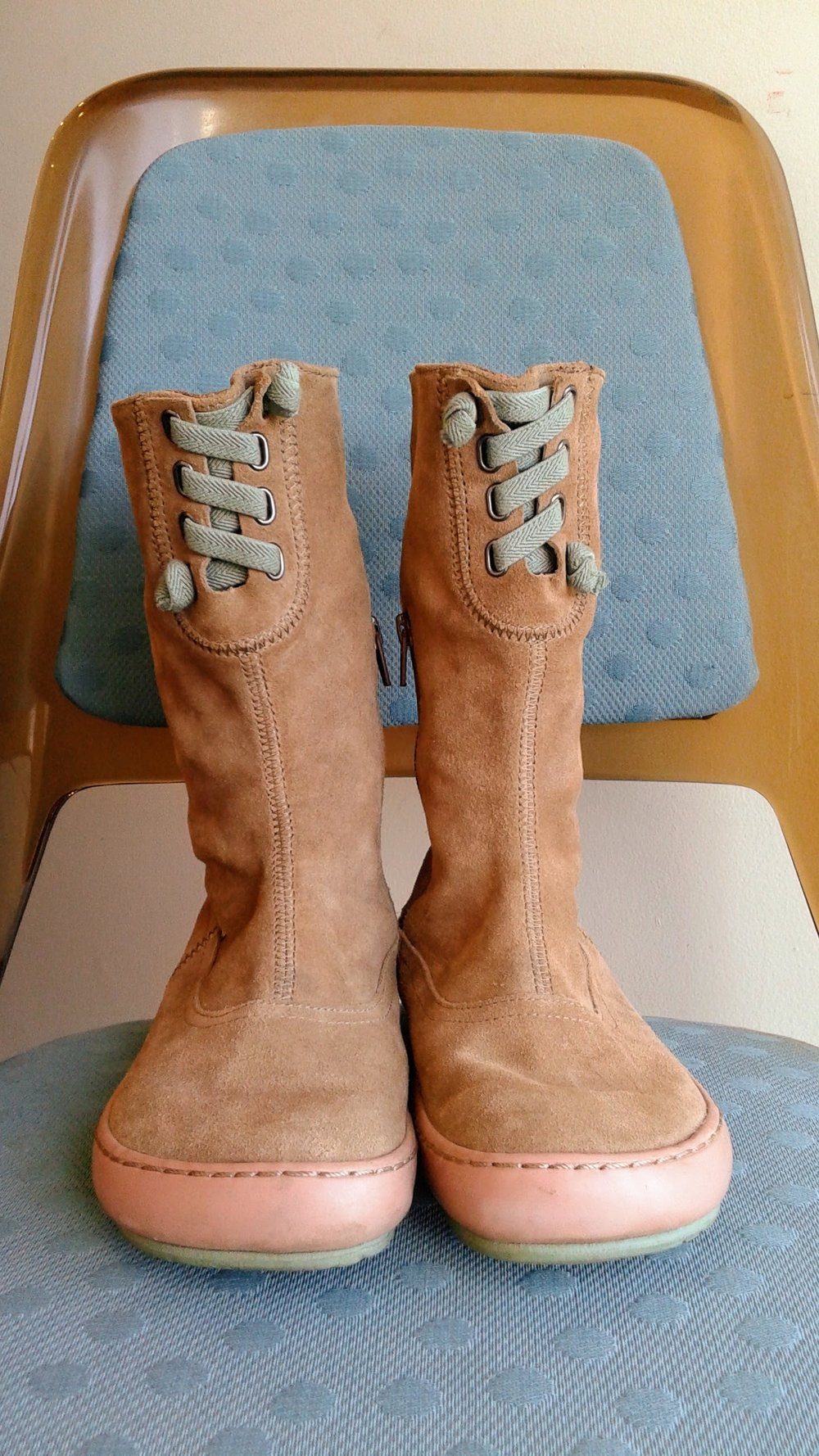 Camper boots; S7, $62