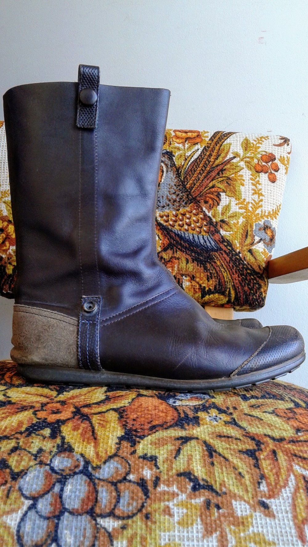 Camper boots; S6, $62