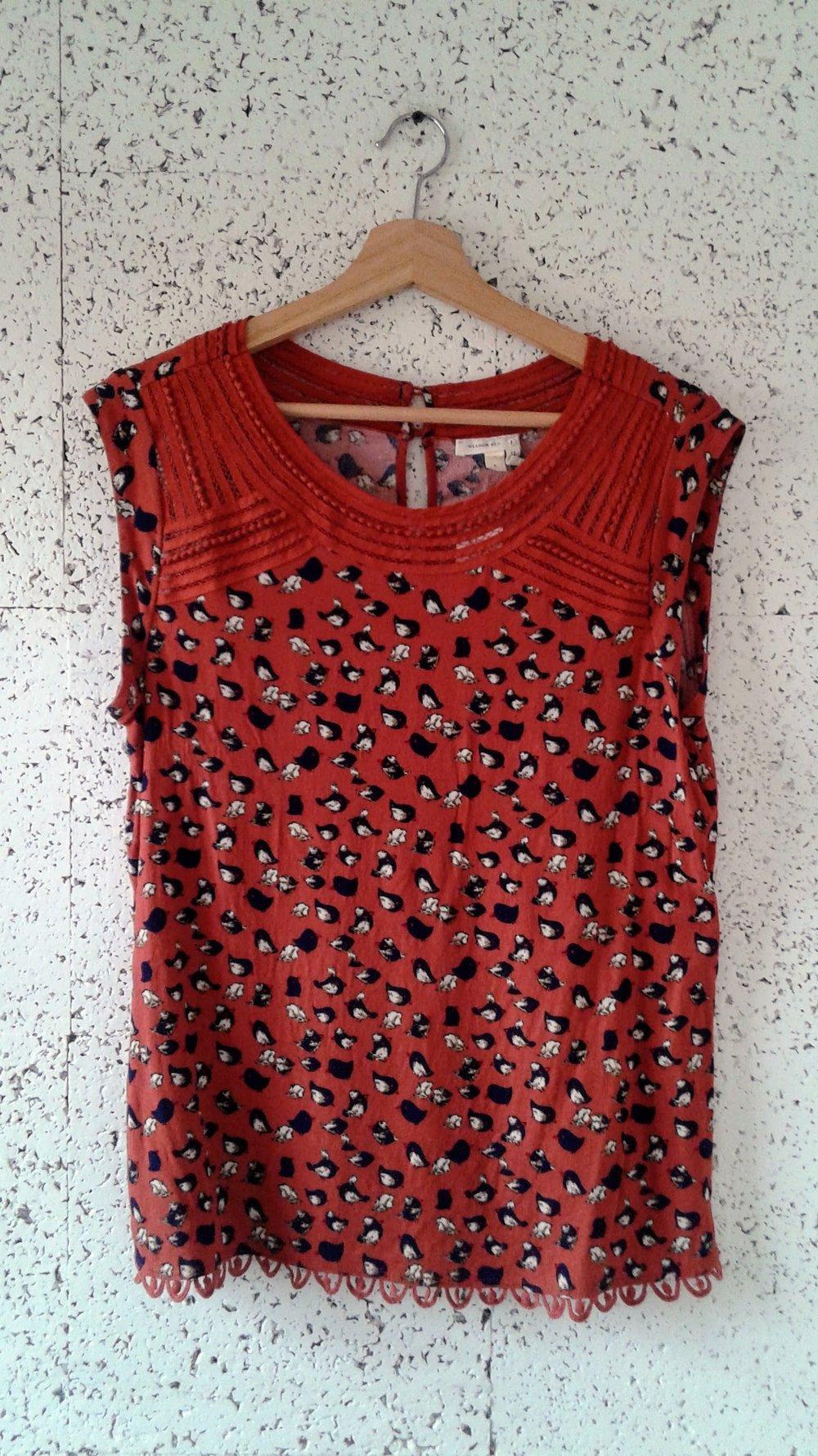 Meadow Rue  top; Size M, $26