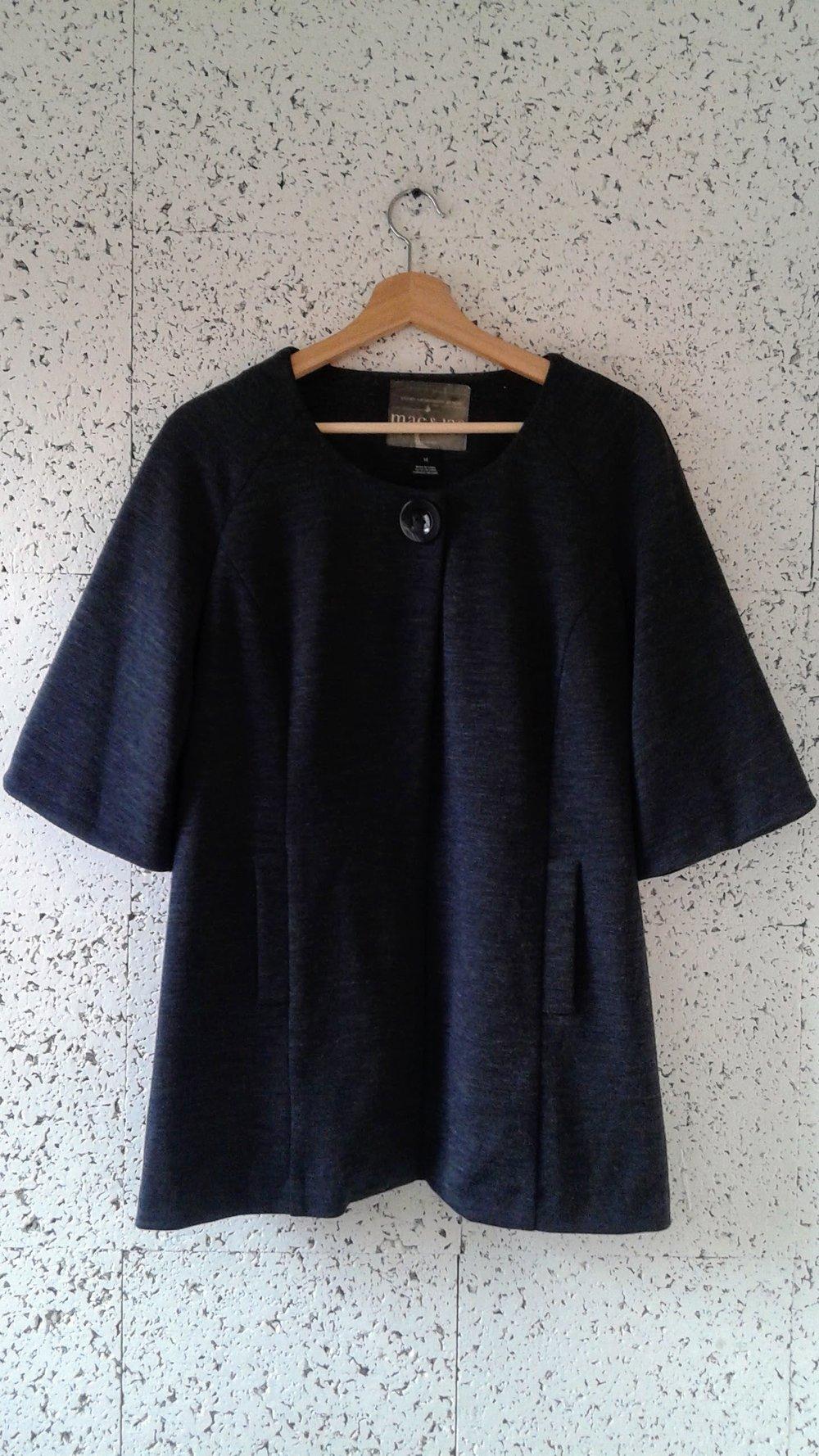 Mac &Jac coat; Size 14, $34