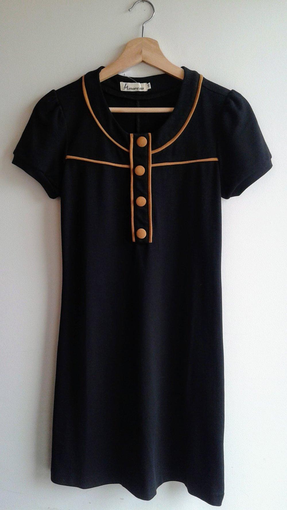 L'Amorena dress; Size S, $28