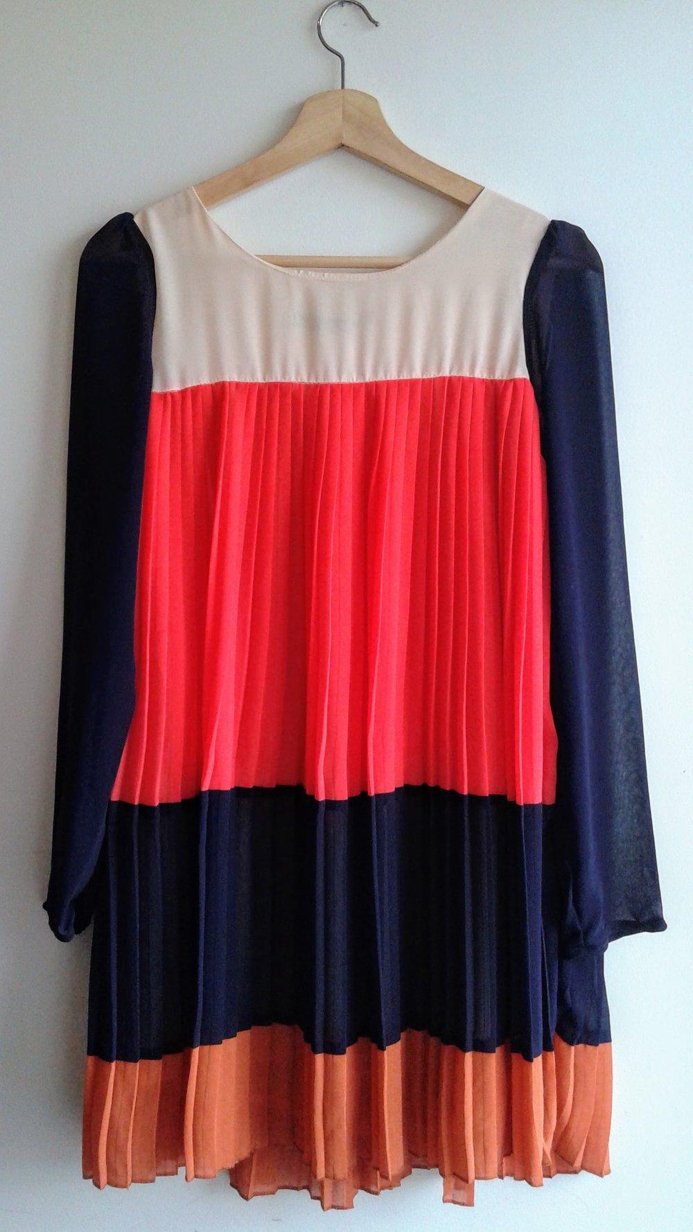 Zoe Baer dress; Size M, $30
