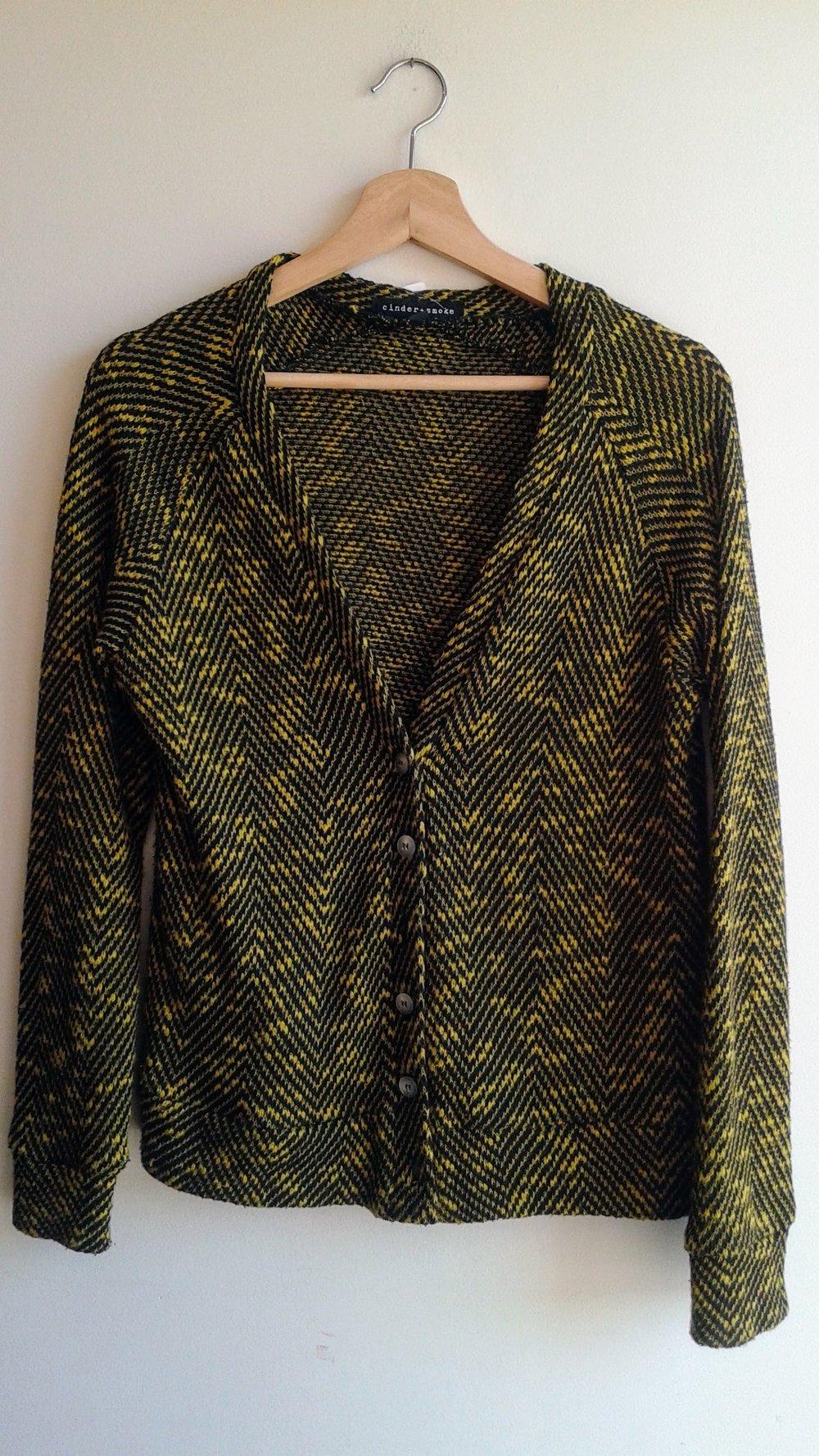 Cinder+Smoke sweater; Size M, $34