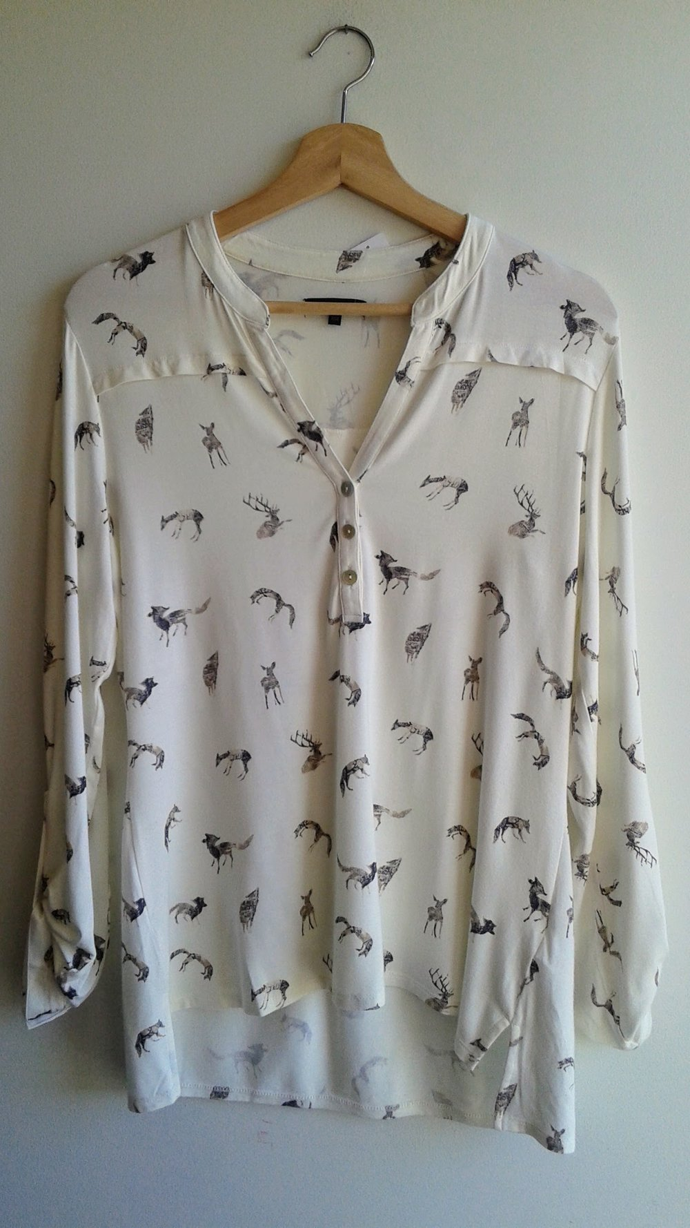 RW & Co top; Size M, $28