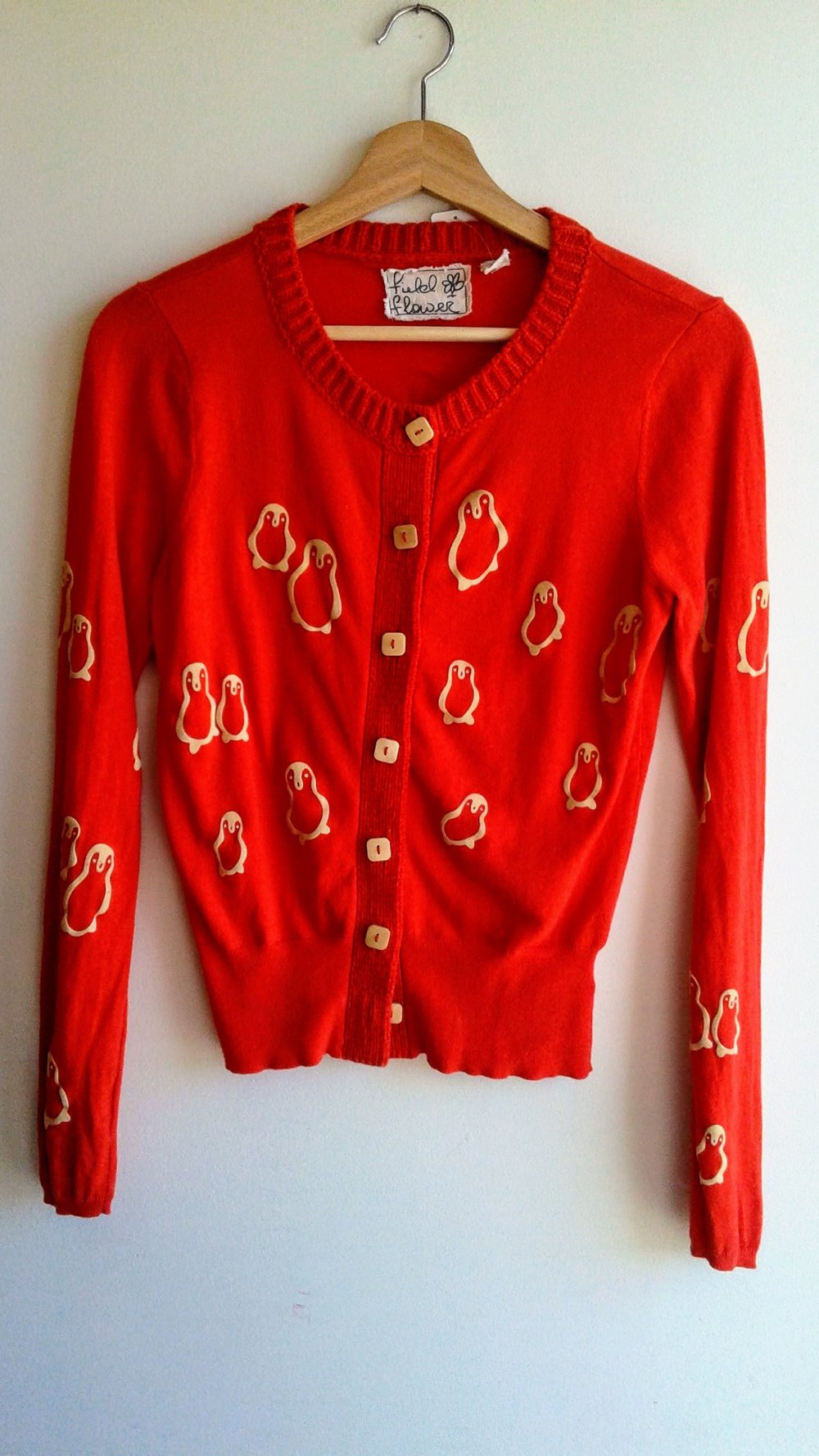 Field Flower cardigan; Size M, $28