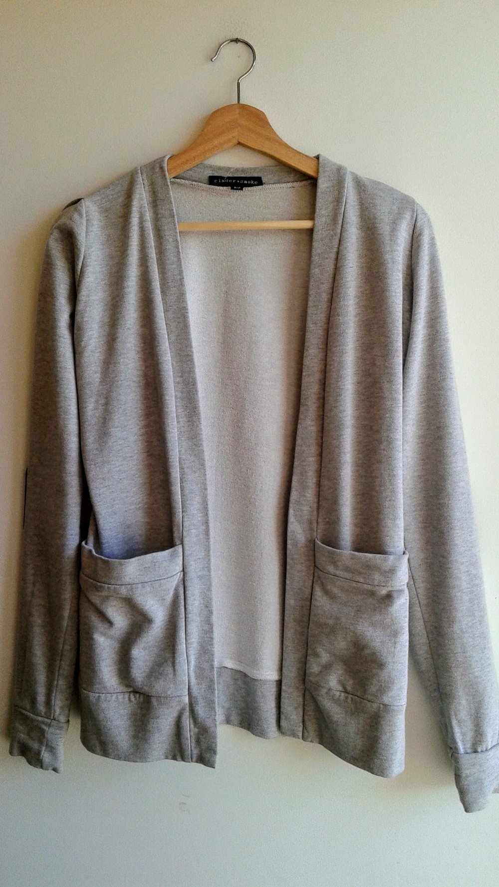 Cinder+Smoke sweater; Size S, $30