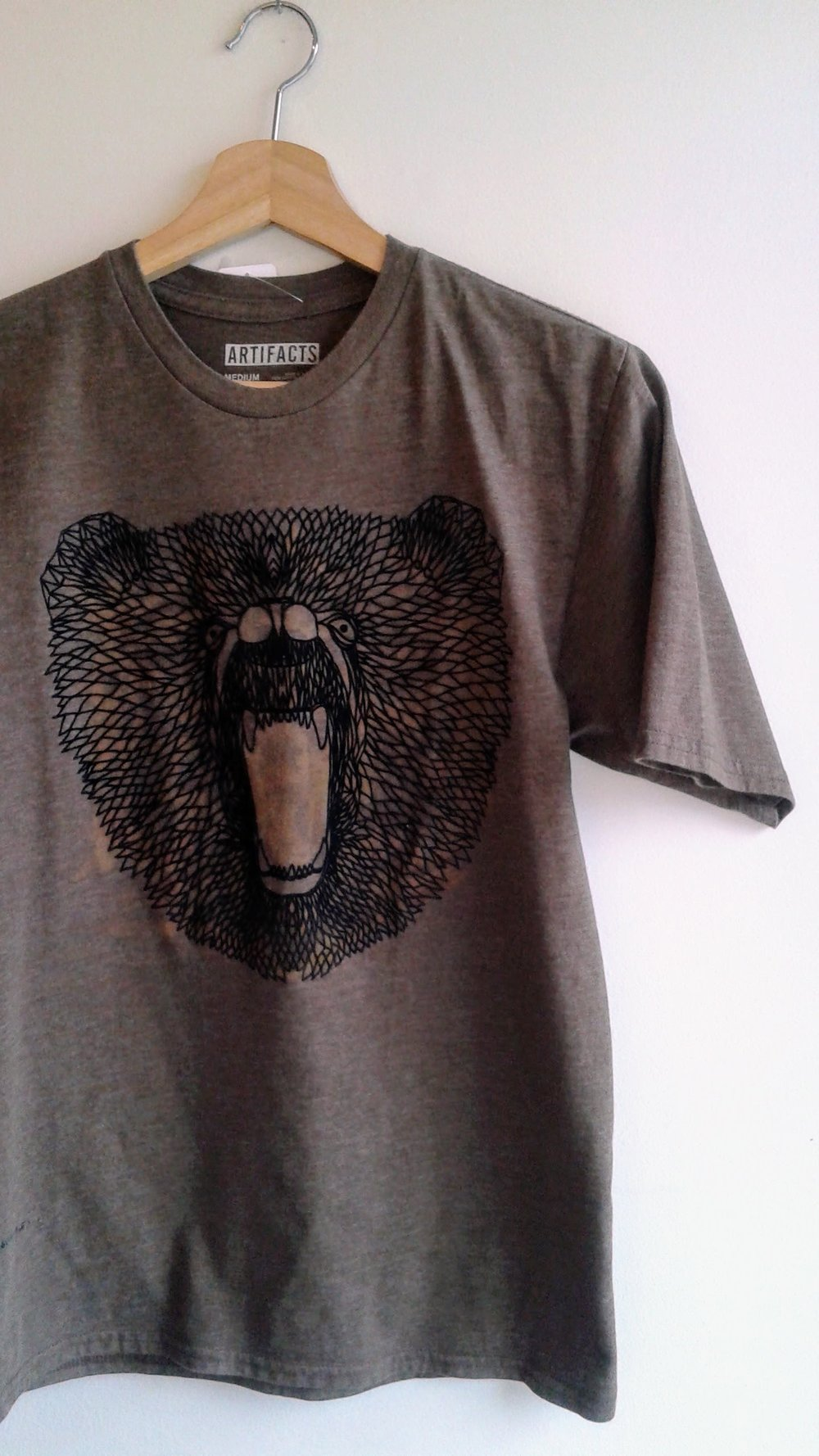 Artifacts shirt; Size M, $24