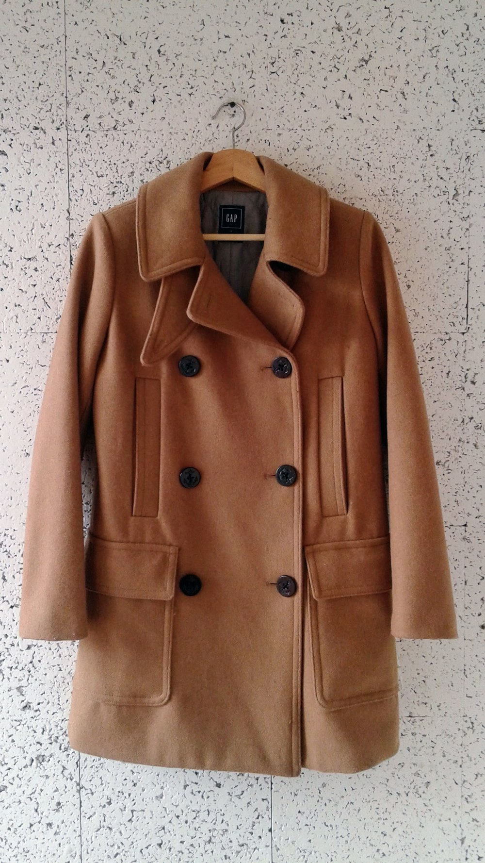Gap coat; Size S, $62