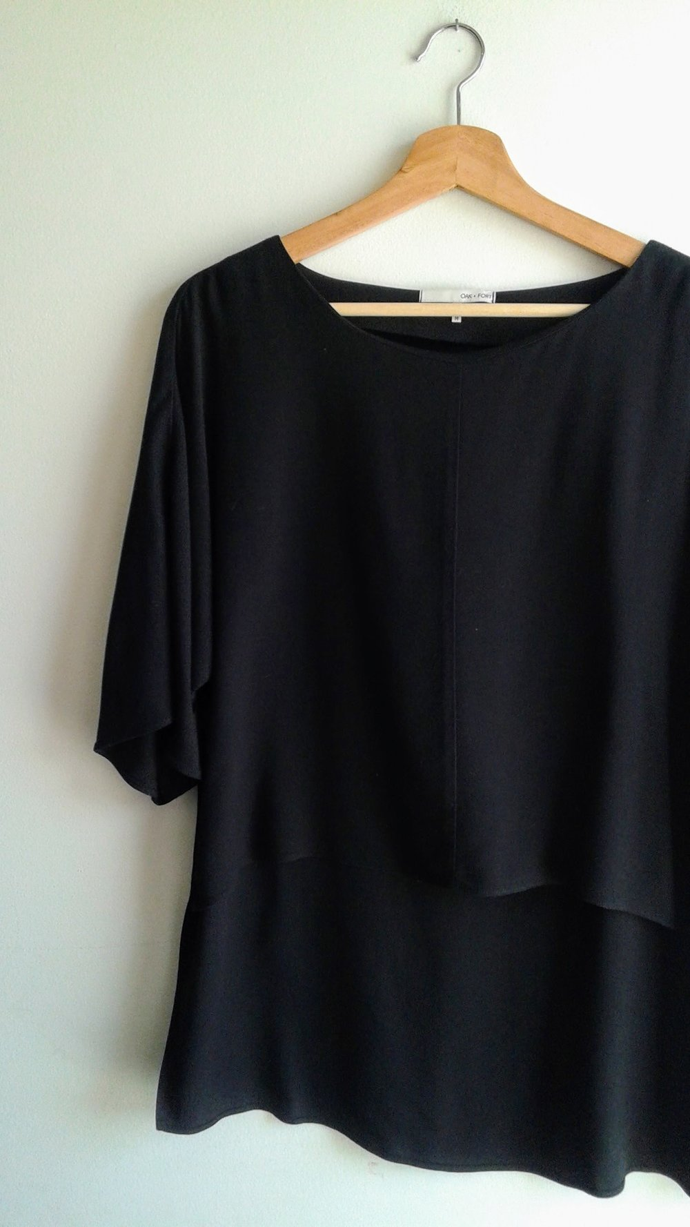 Oak+Fort top; Size M, $36