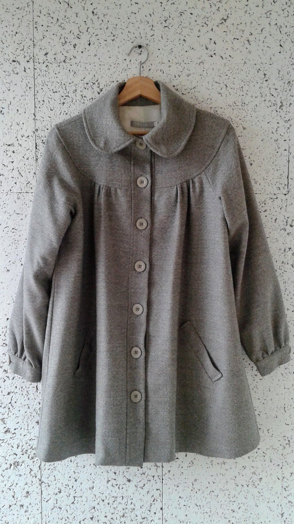 Dace coat; Size S, $48