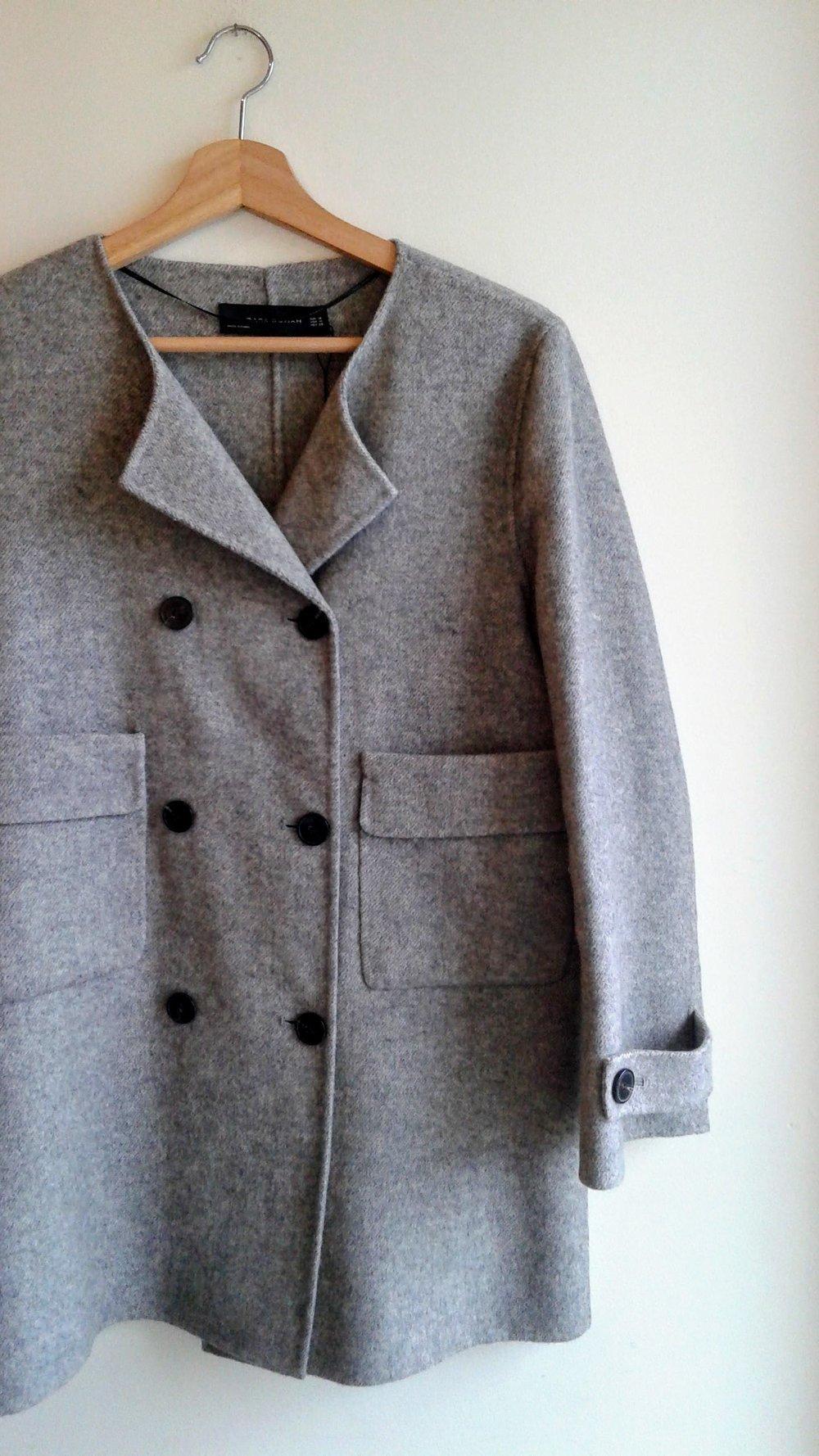 Zara coat (NWT); Size M, $75