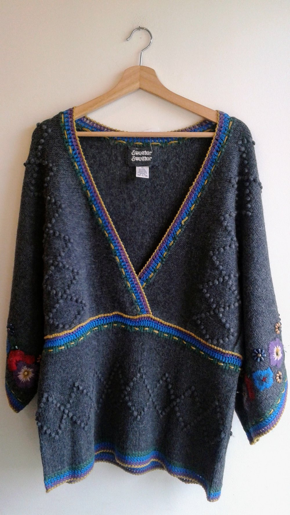 Sweater Sweater sweater; Size XL, $38