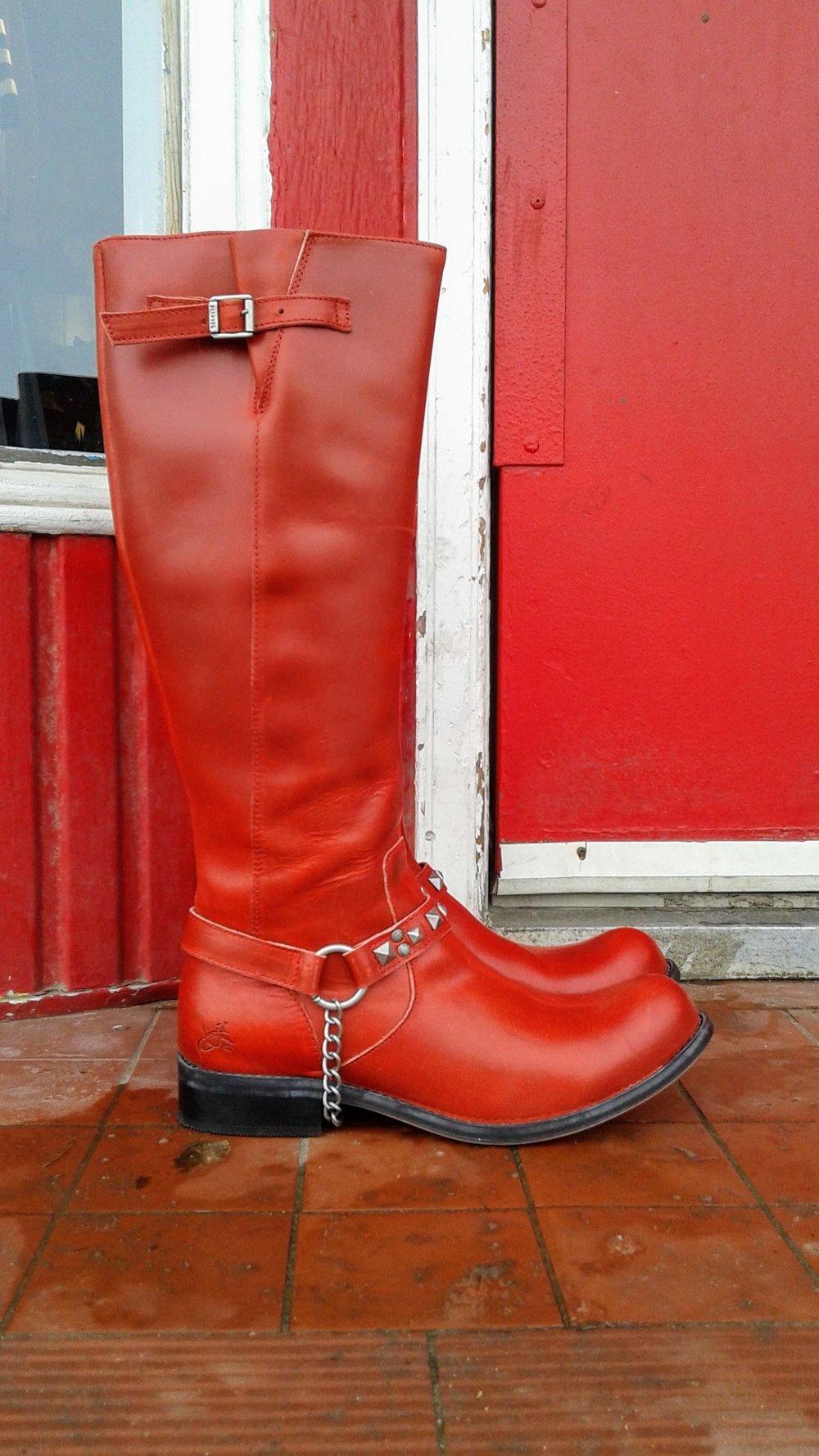 Fluevog boot; S12, $225
