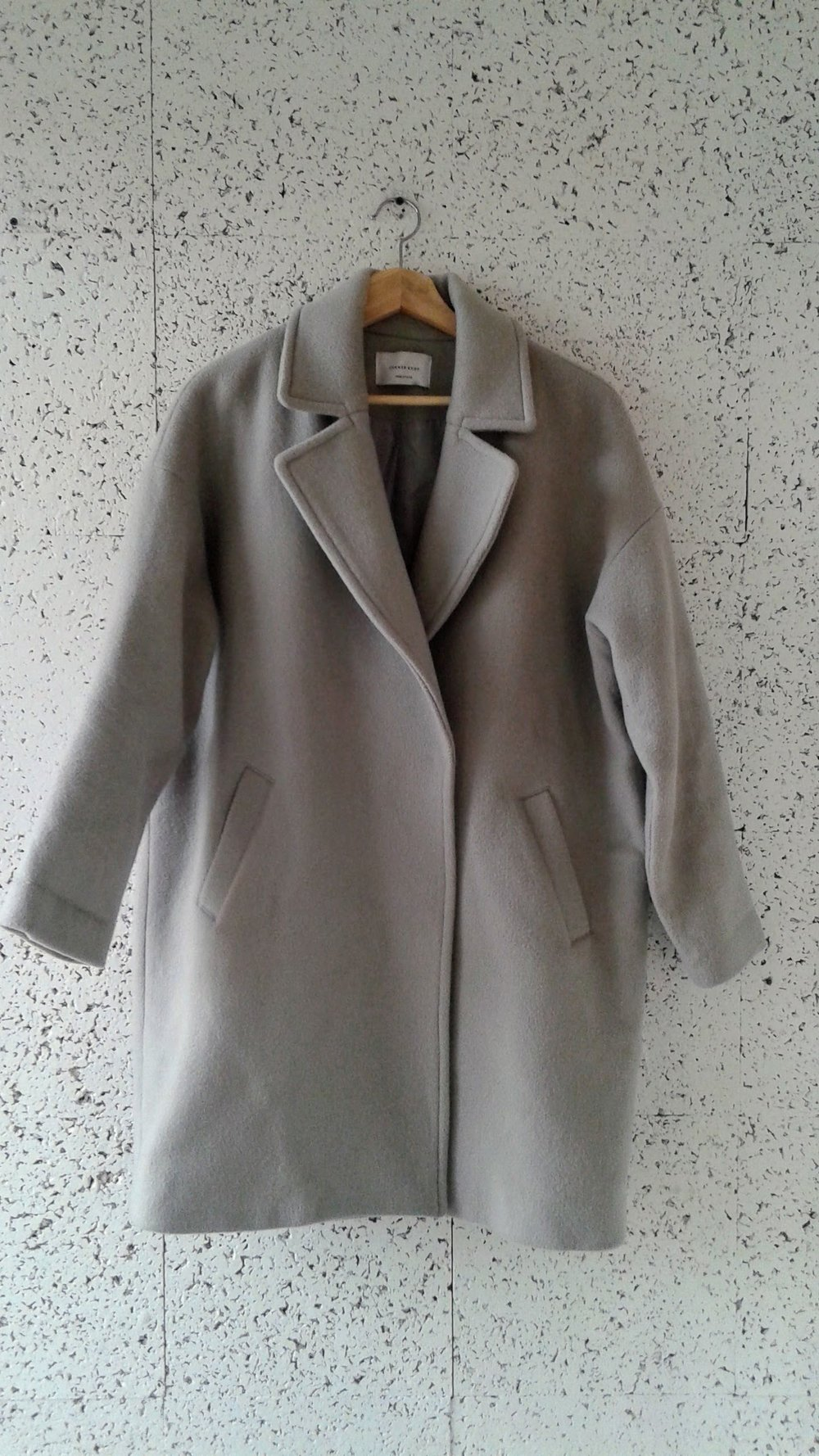 Corner Shop coat; Size M, $48