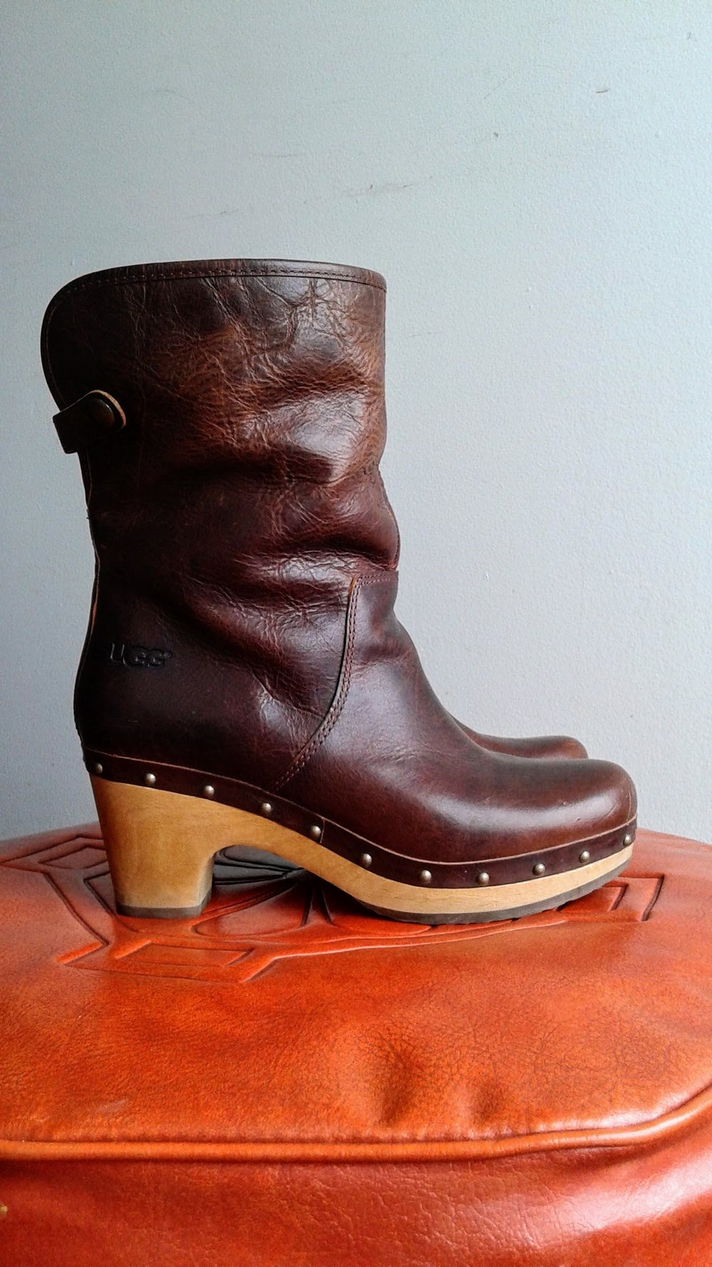 Ugg boots; S6, $85