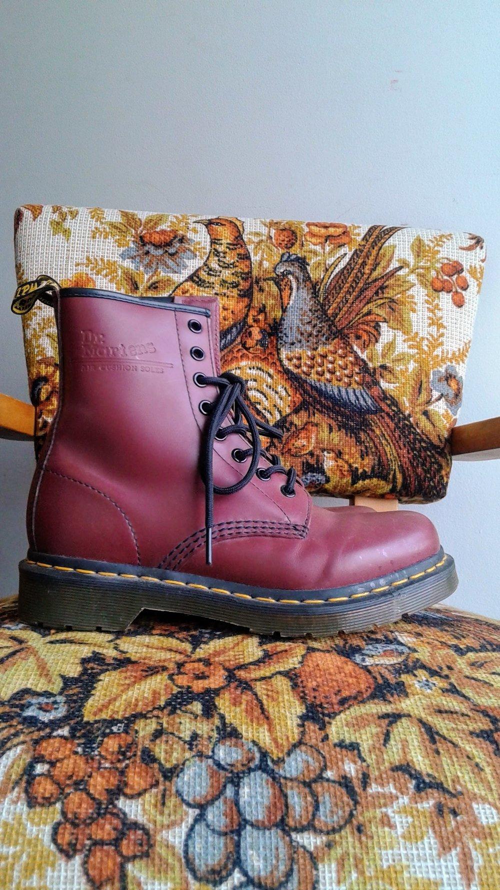 Dr Martens boots; S6.5, $95