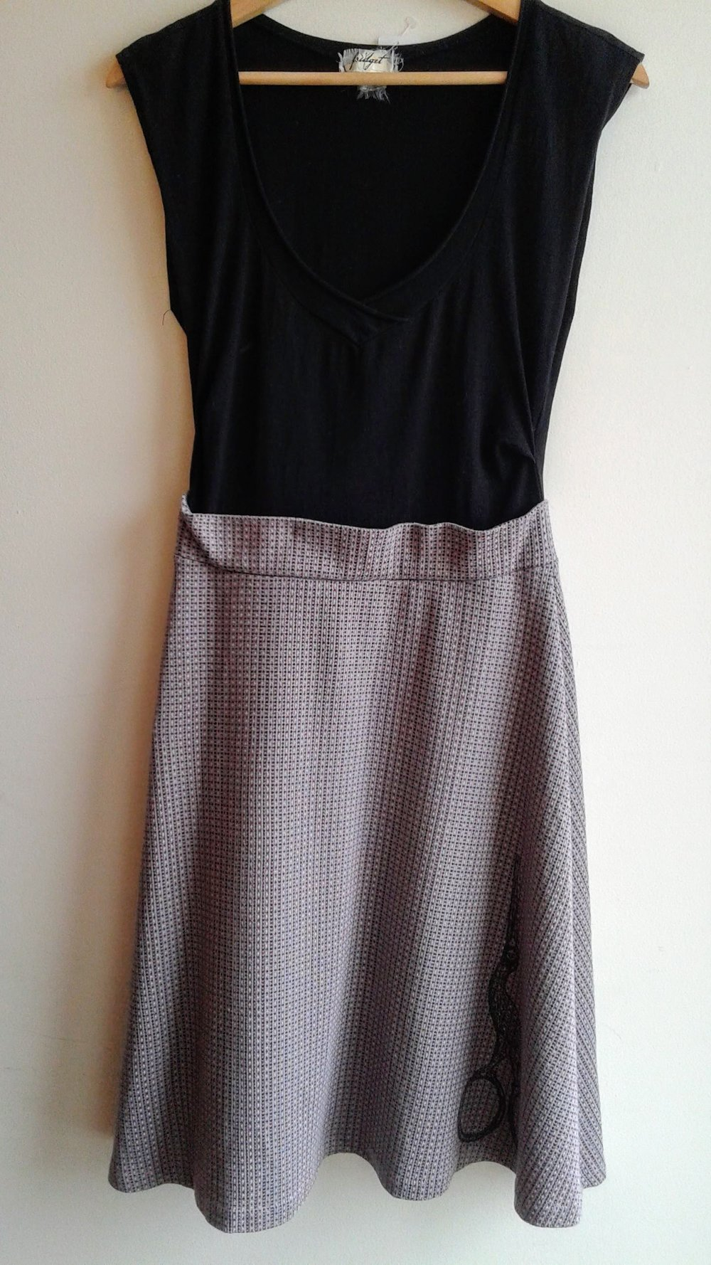Fridgit dress; Size S, $42