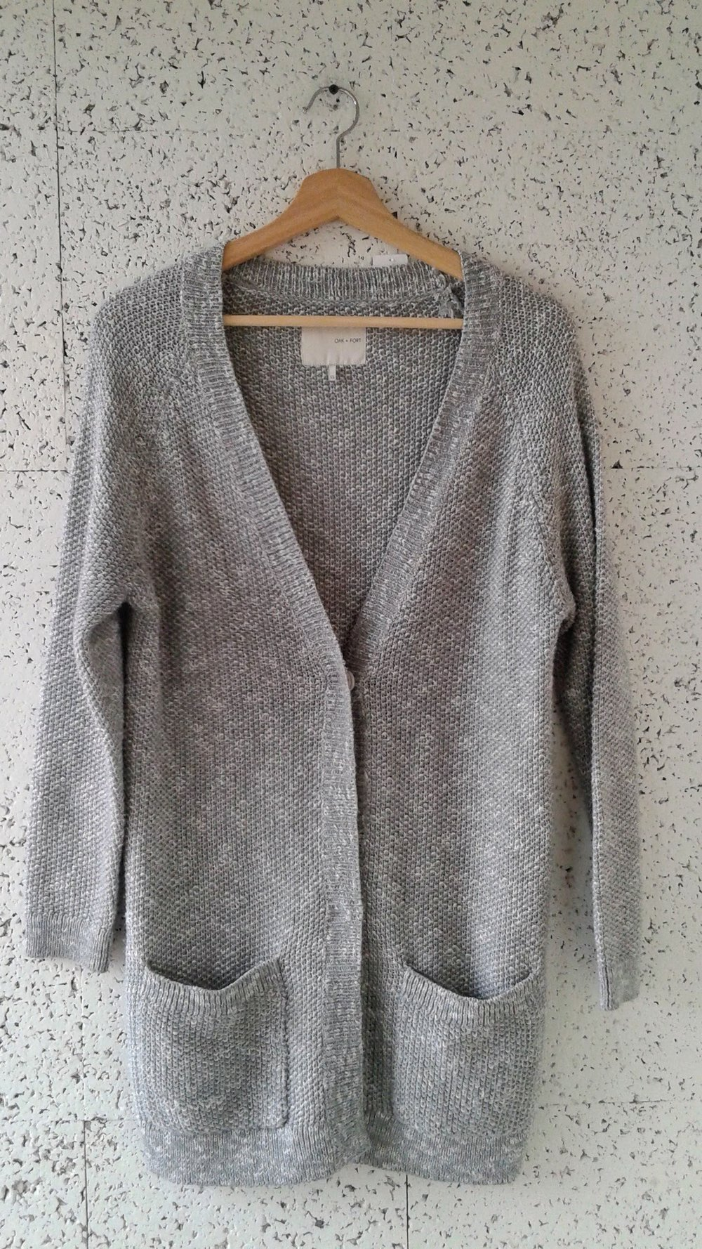 Oak + Fort sweater; Size XS, $48