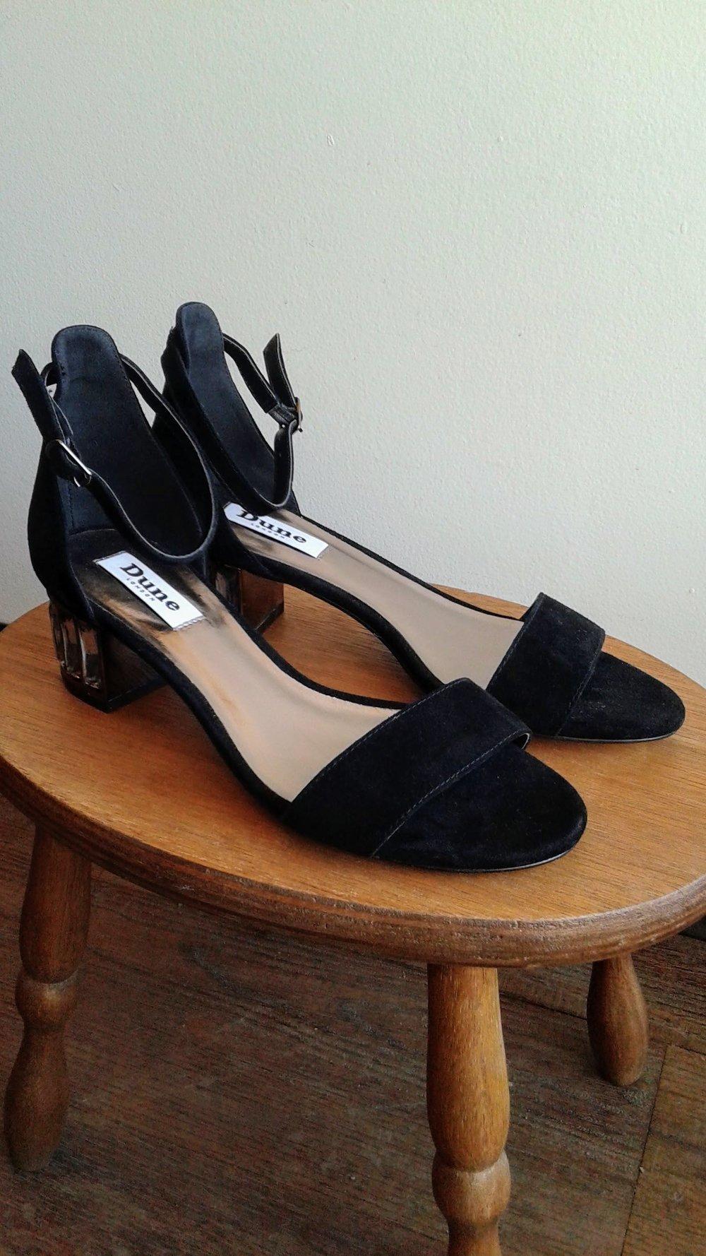 Dune London  sandals; S6, $30
