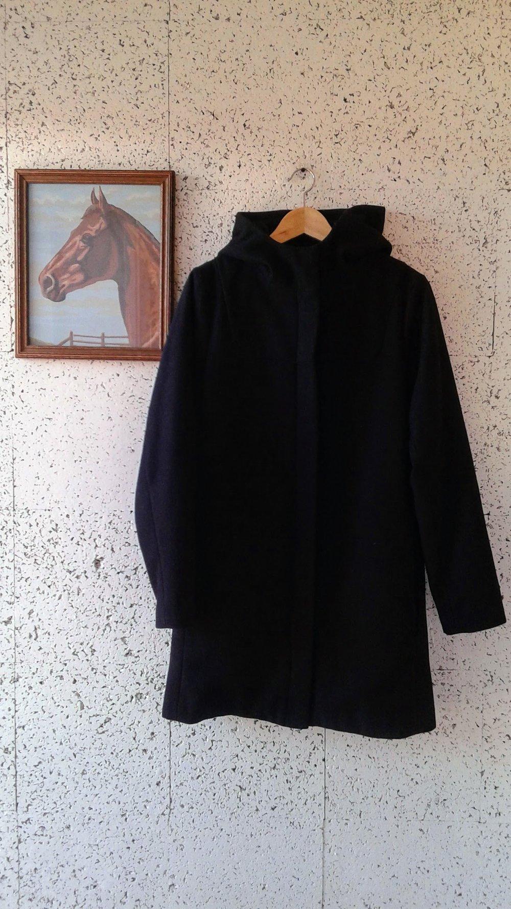 Twik coat; Size M, $64