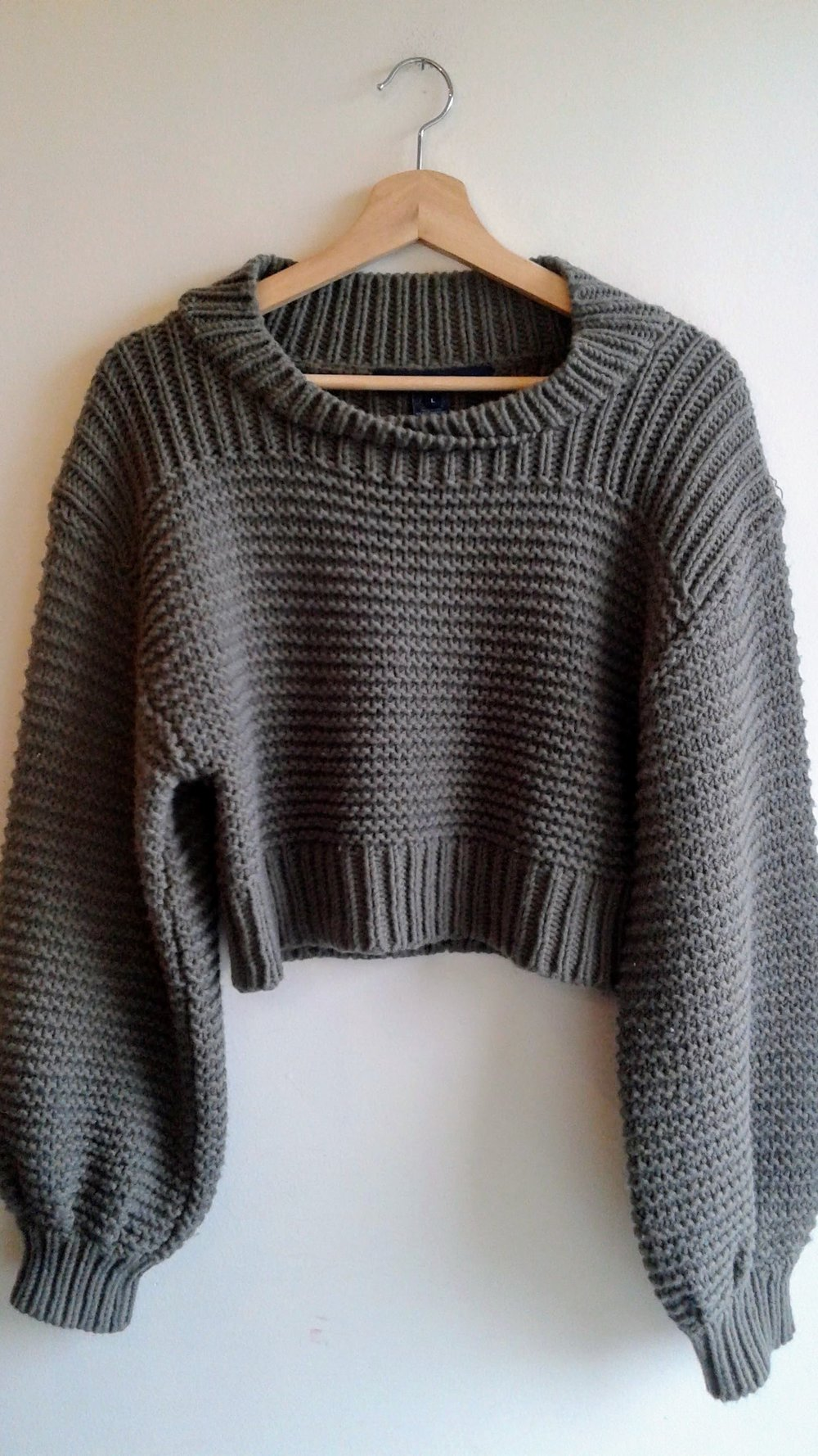 French Connection sweater; Size L, $30