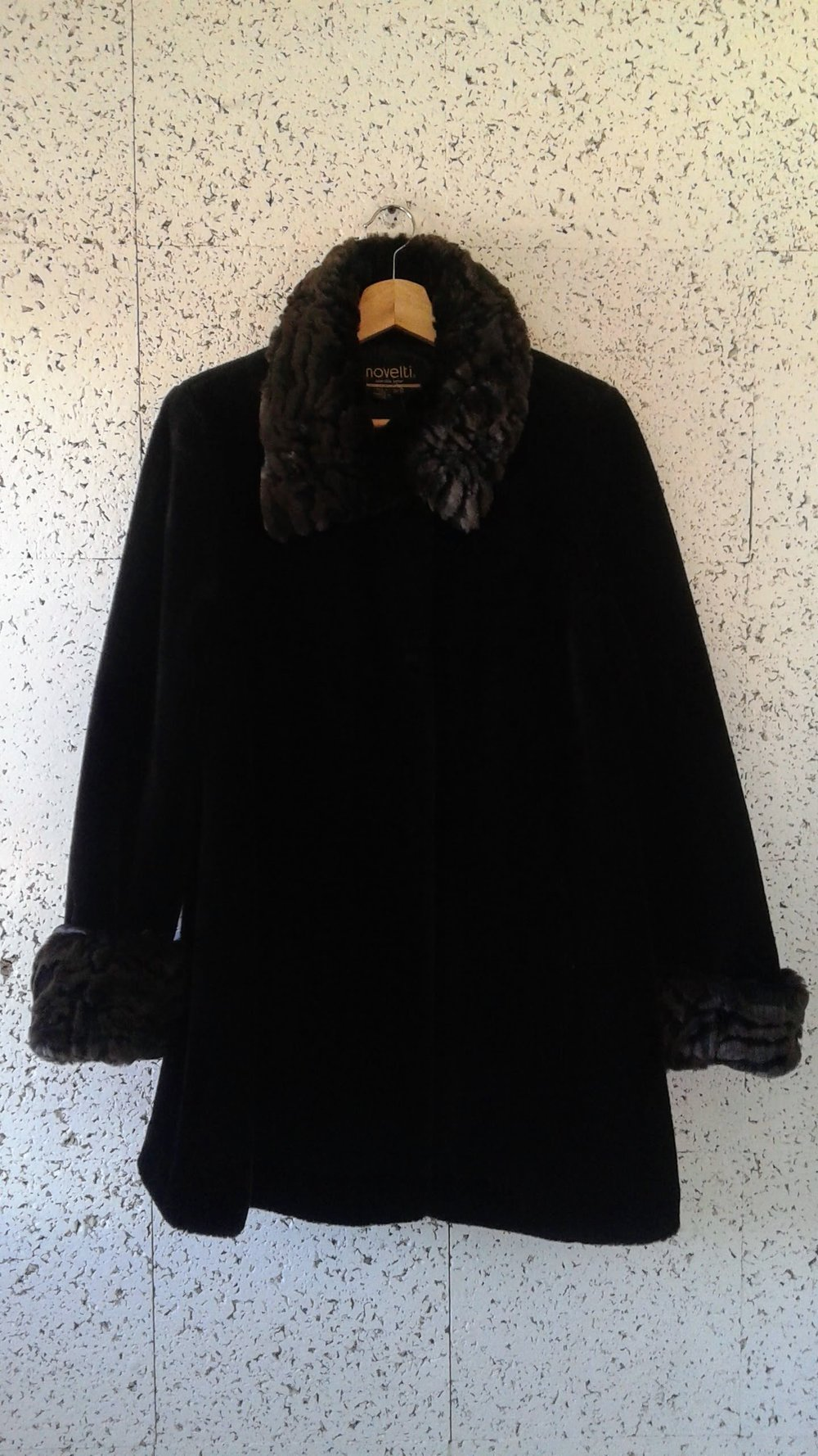 Novelti  coat; Size 9/10, $65