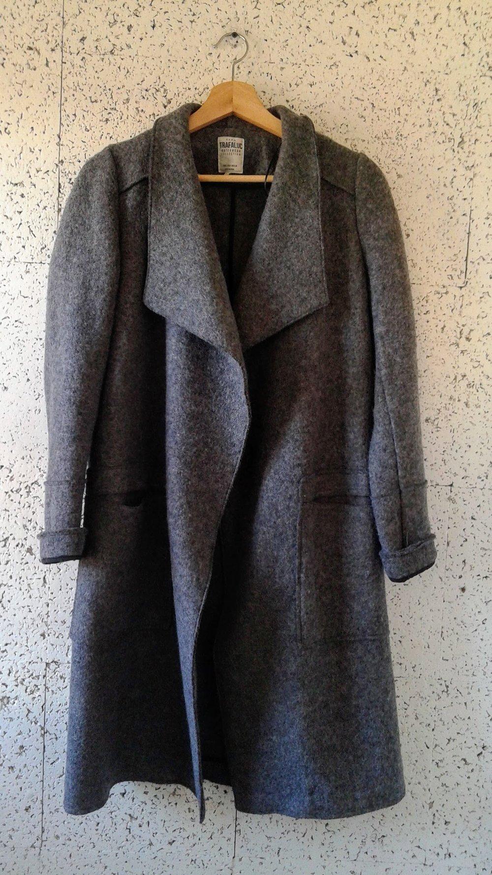 Zara coat; Size M, $68