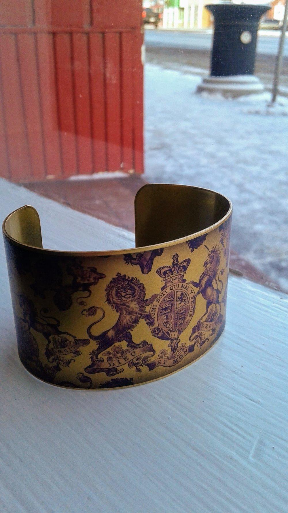 Cuff bracelet, $20