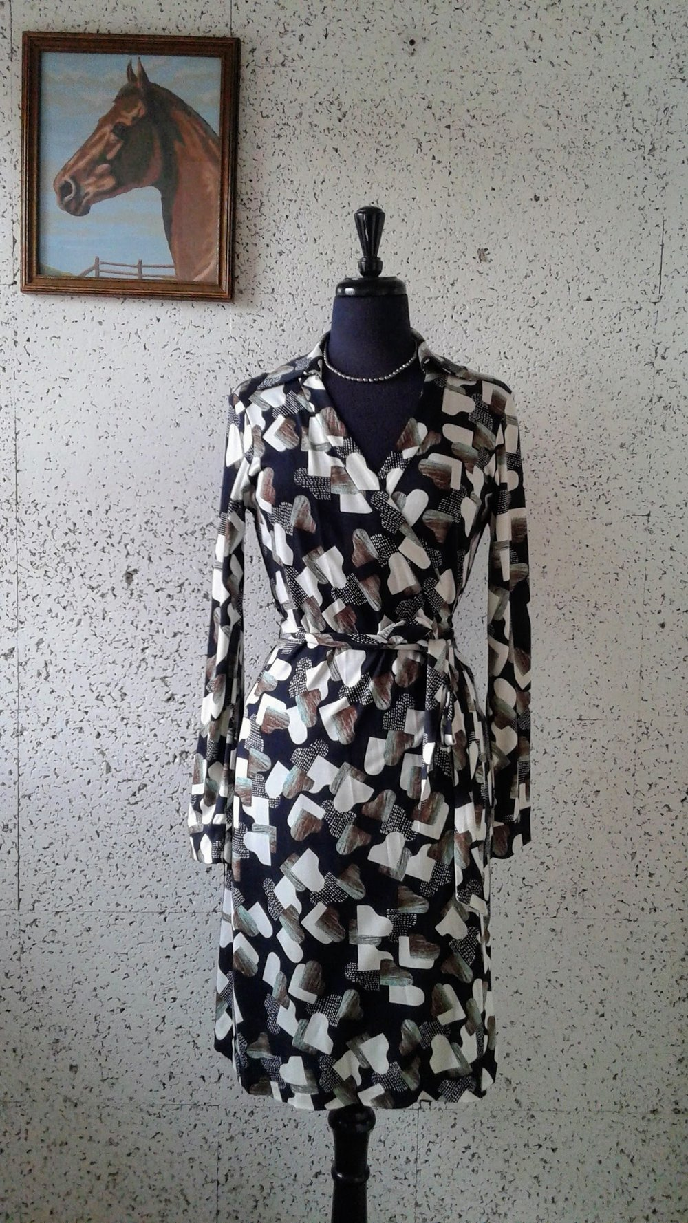 Diane Von Furstenberg dress; Size 8, $68