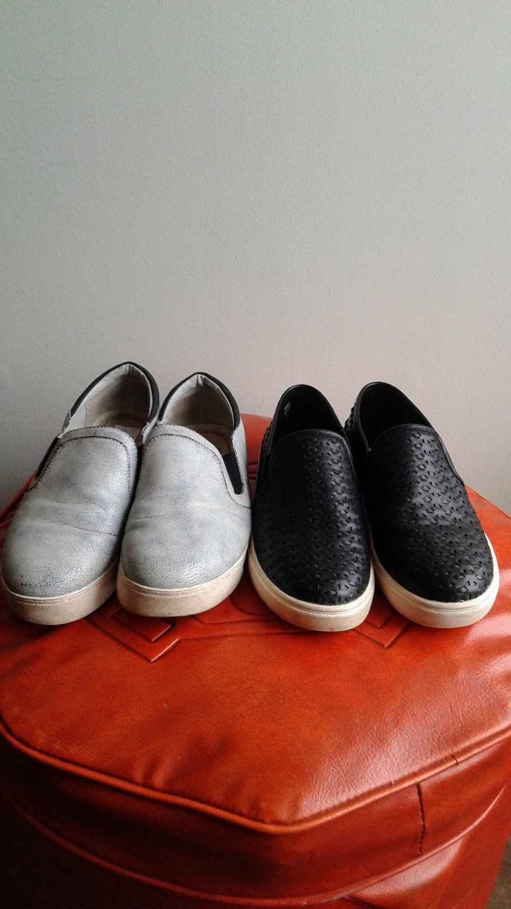 Sam Edelman  shoes; S7, $26;  Steve Madden  shoes; S7, $28